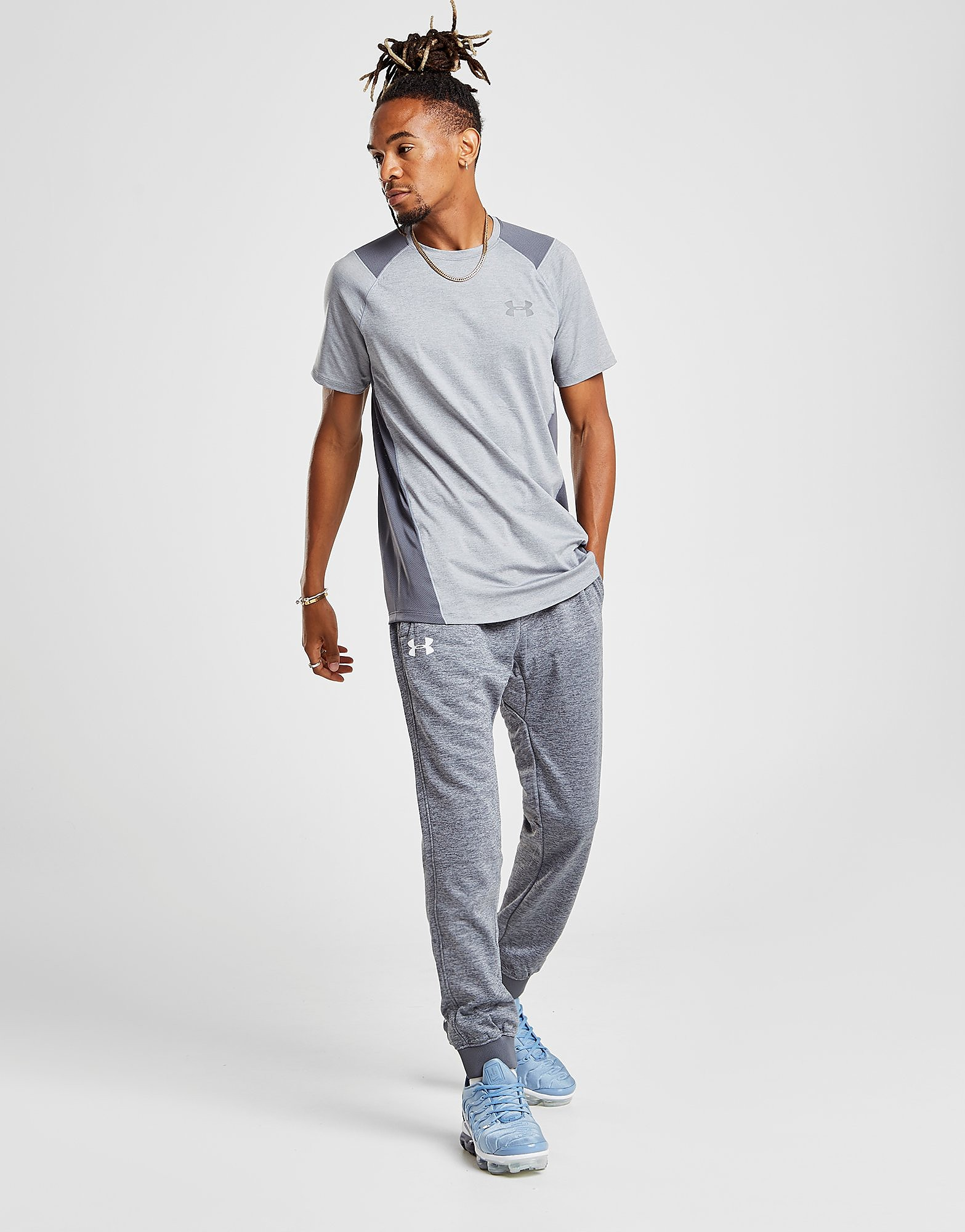 Under Armour Fleece Poly Track Pants