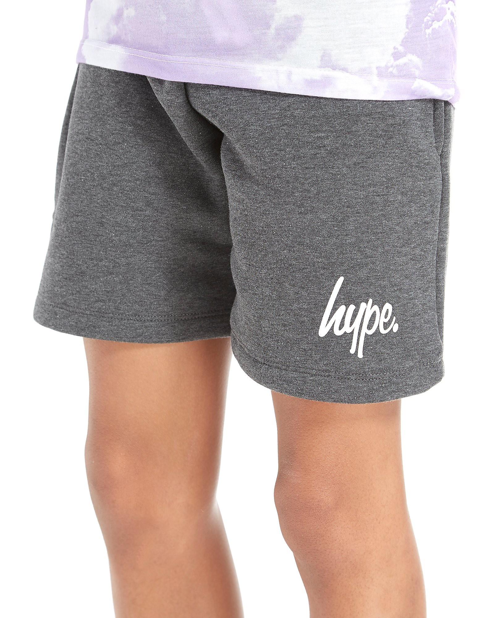 Hype Script Fleece Shorts Junior