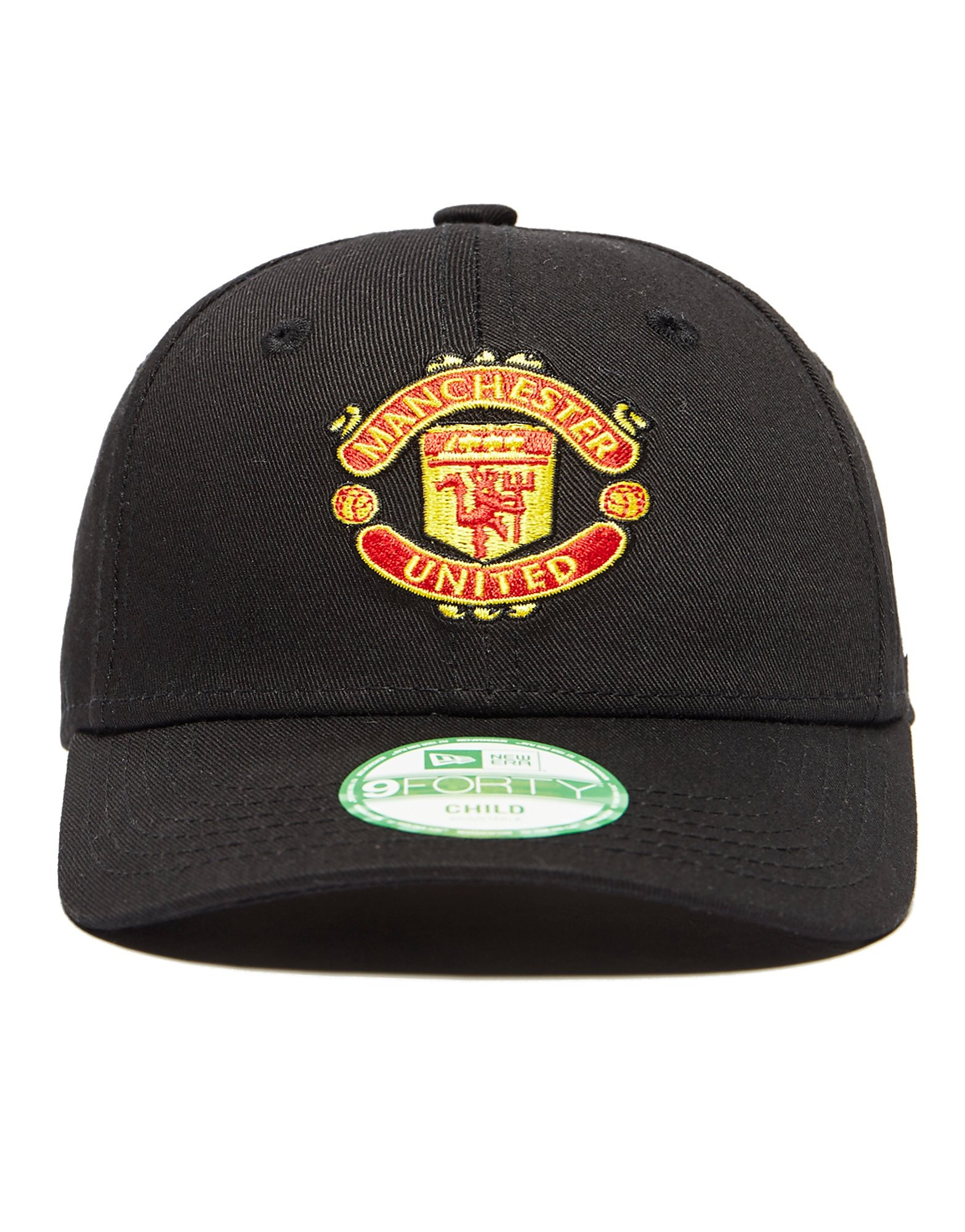 New Era Manchester United FC Kids' 9Forty Kappe Junior Schwarz