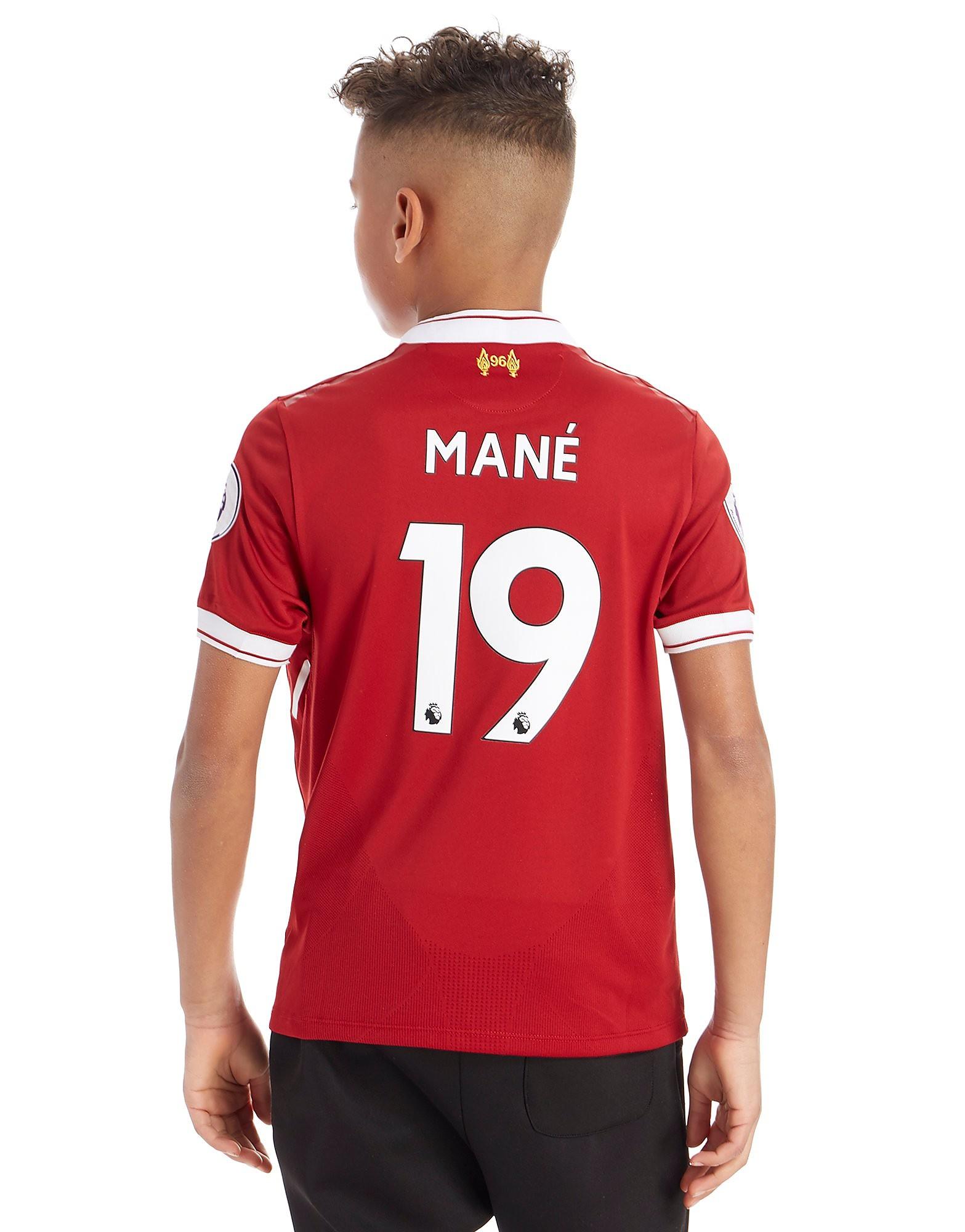 New Balance Liverpool FC 2017 Mane #19 Home Shirt Junior