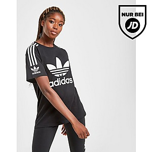 adidas Originals 3 Stripes Lock Up Boyfriend Hoodie Damen