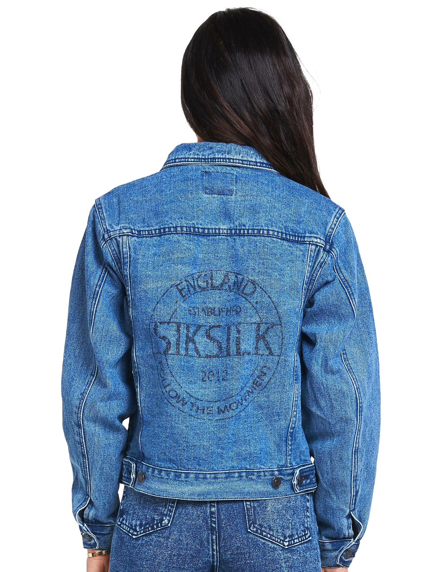SikSilk Over Sized Denim Jacket