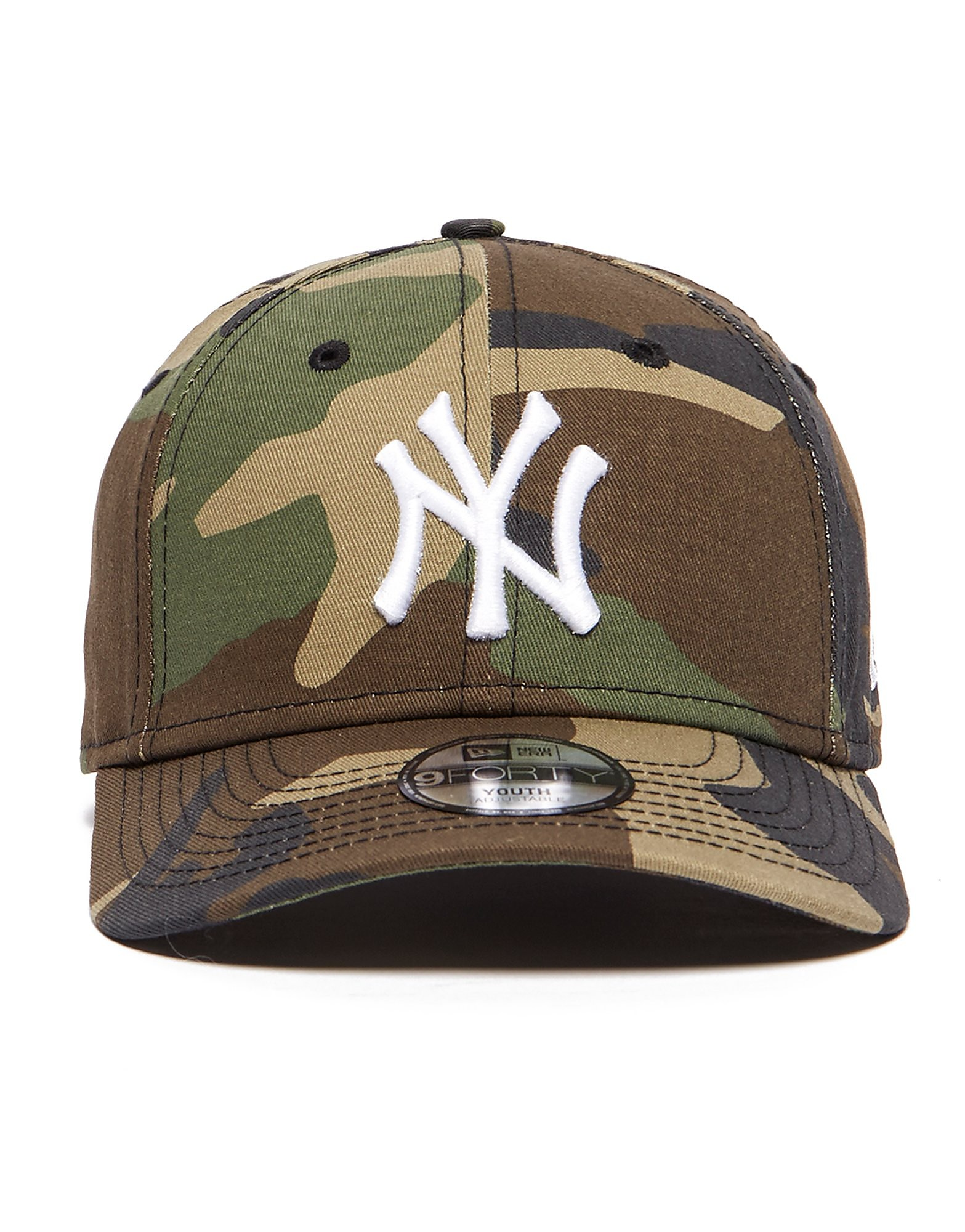 New Era 9Forty New York Yankees Junior Camo Cap