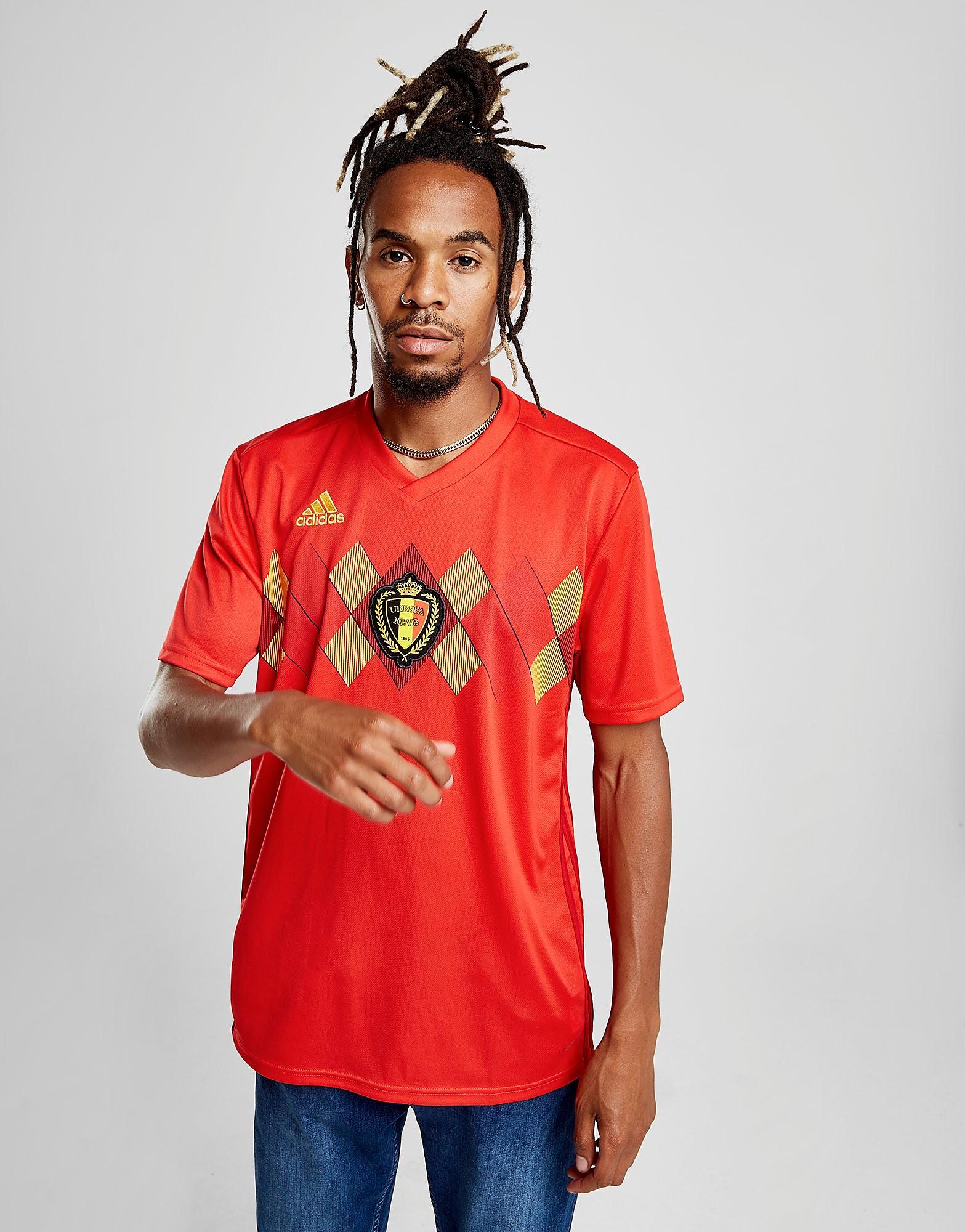 adidas Belgium 2017/18 Home Shirt