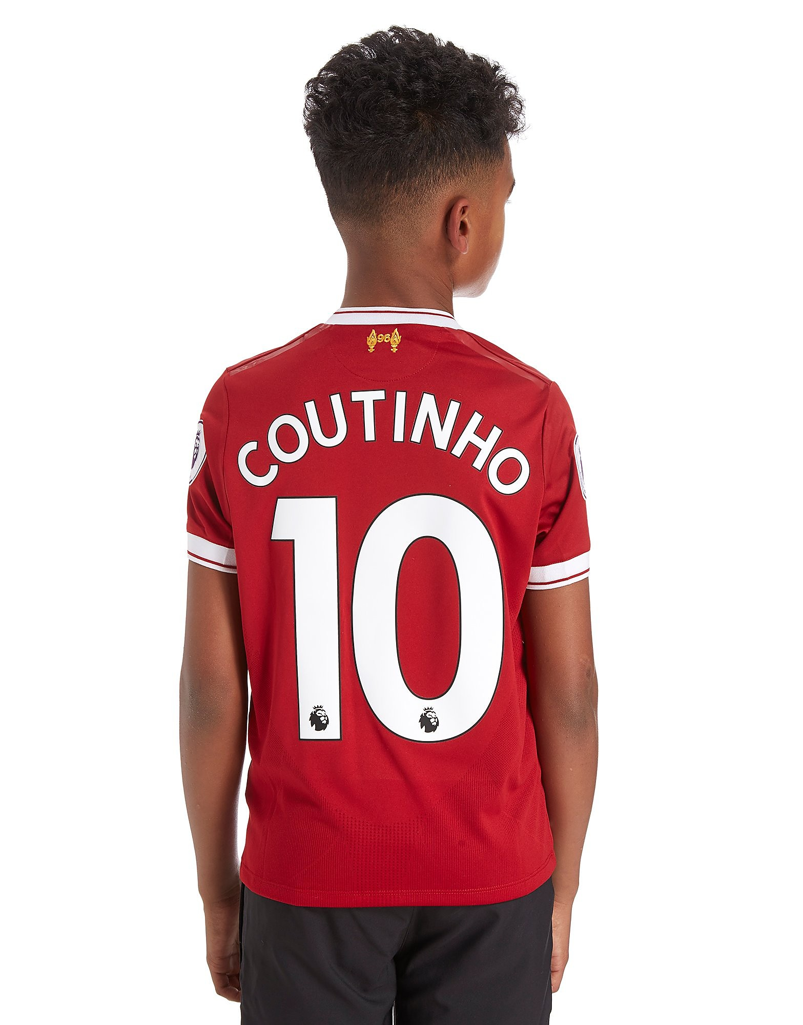 New Balance Liverpool FC Coutinho #10 Home 17/18 Shirt Junior