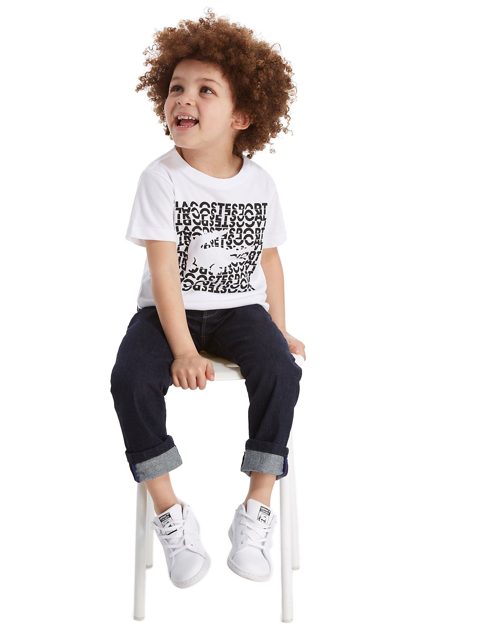 Lacoste Logo Croc T-Shirt Children