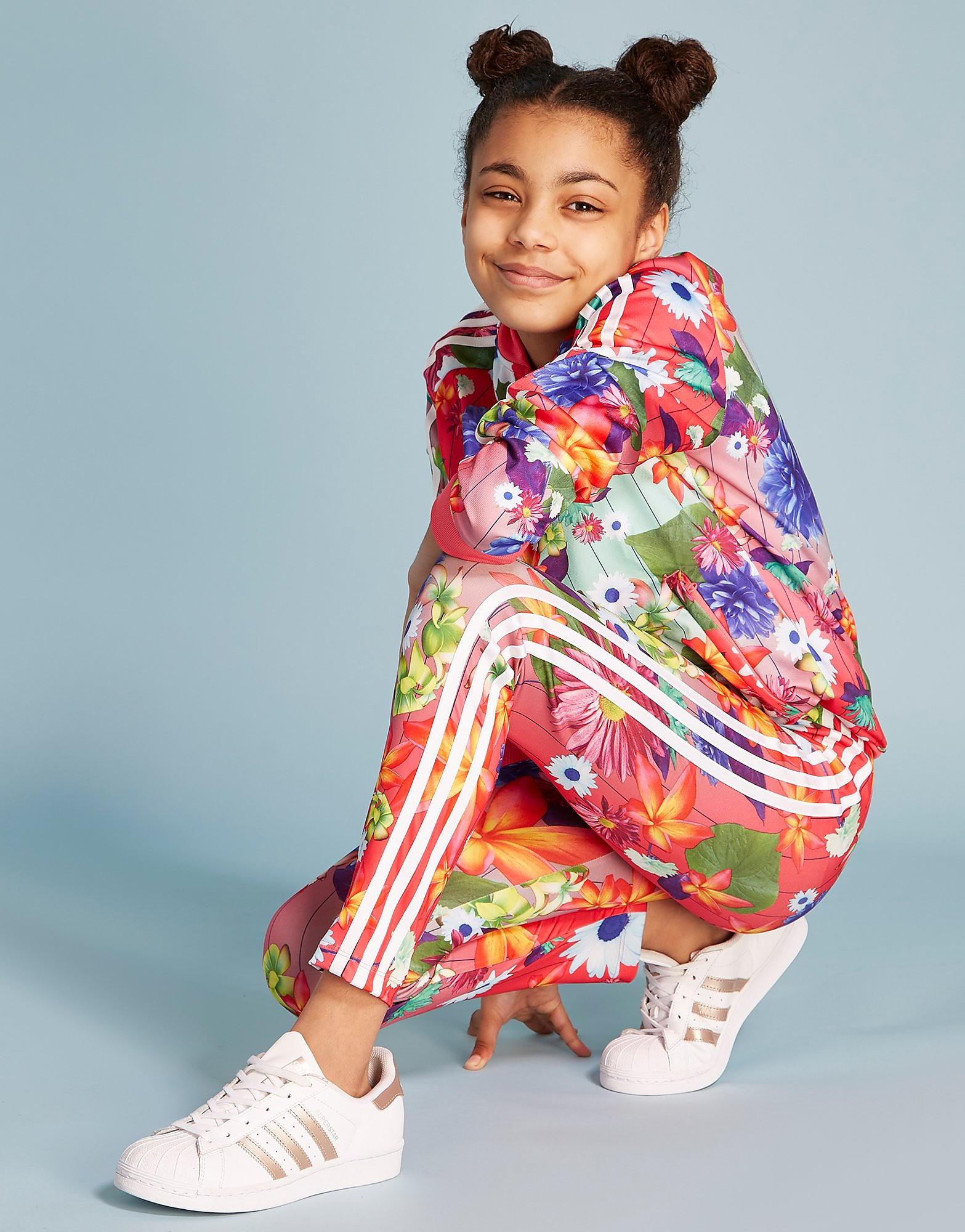 adidas Originals Girls' Floral Leggings Junior