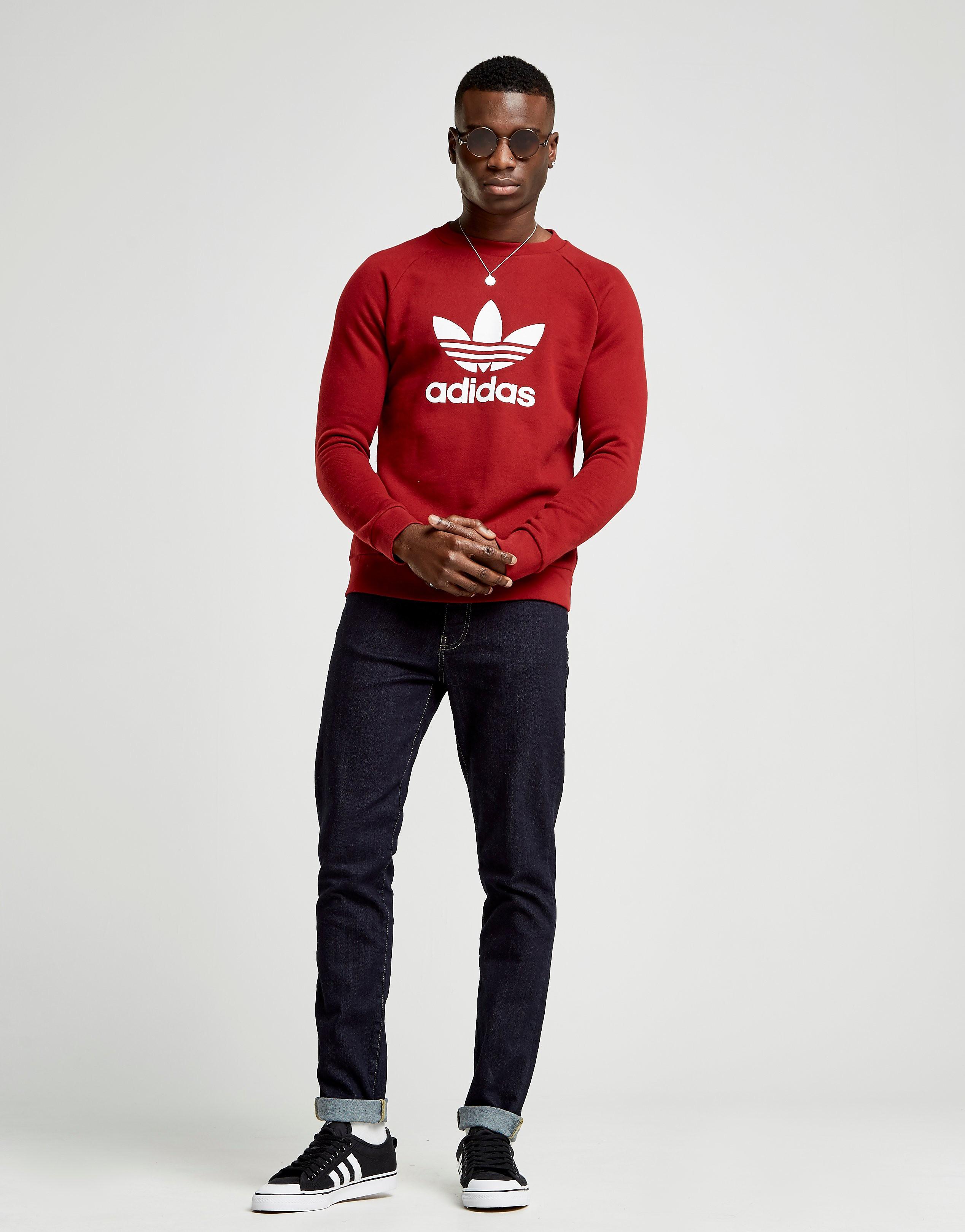 adidas Originals Trefoil Crew Sweatshirt Herre