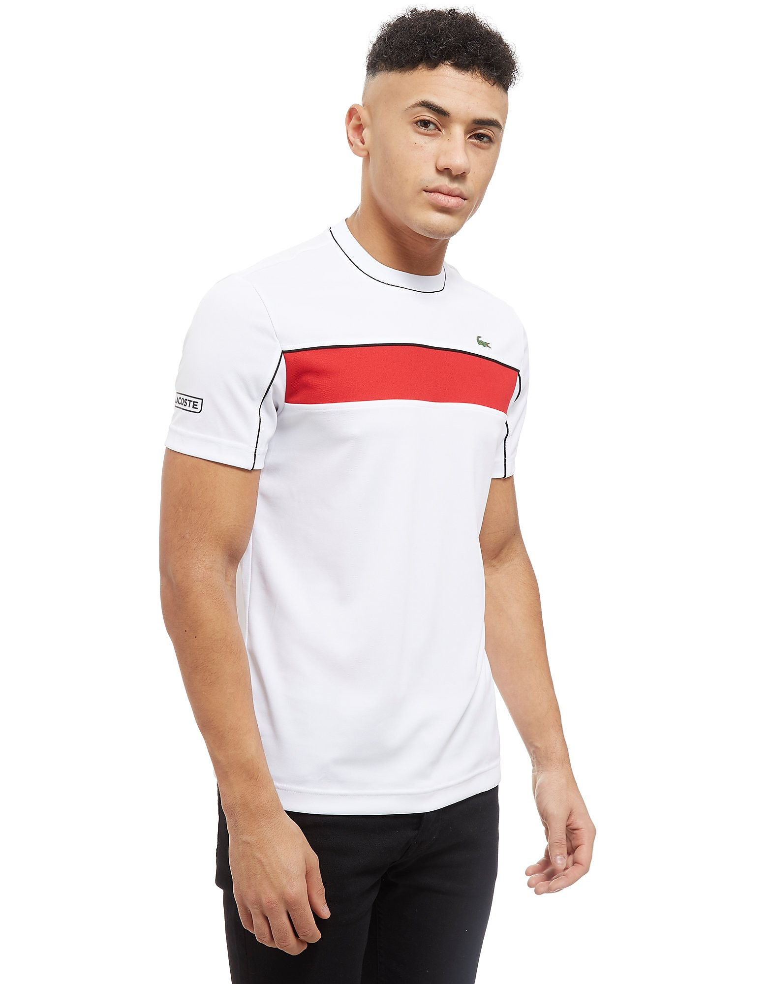 Lacoste Djokovic Colourblock Tech T-Shirt