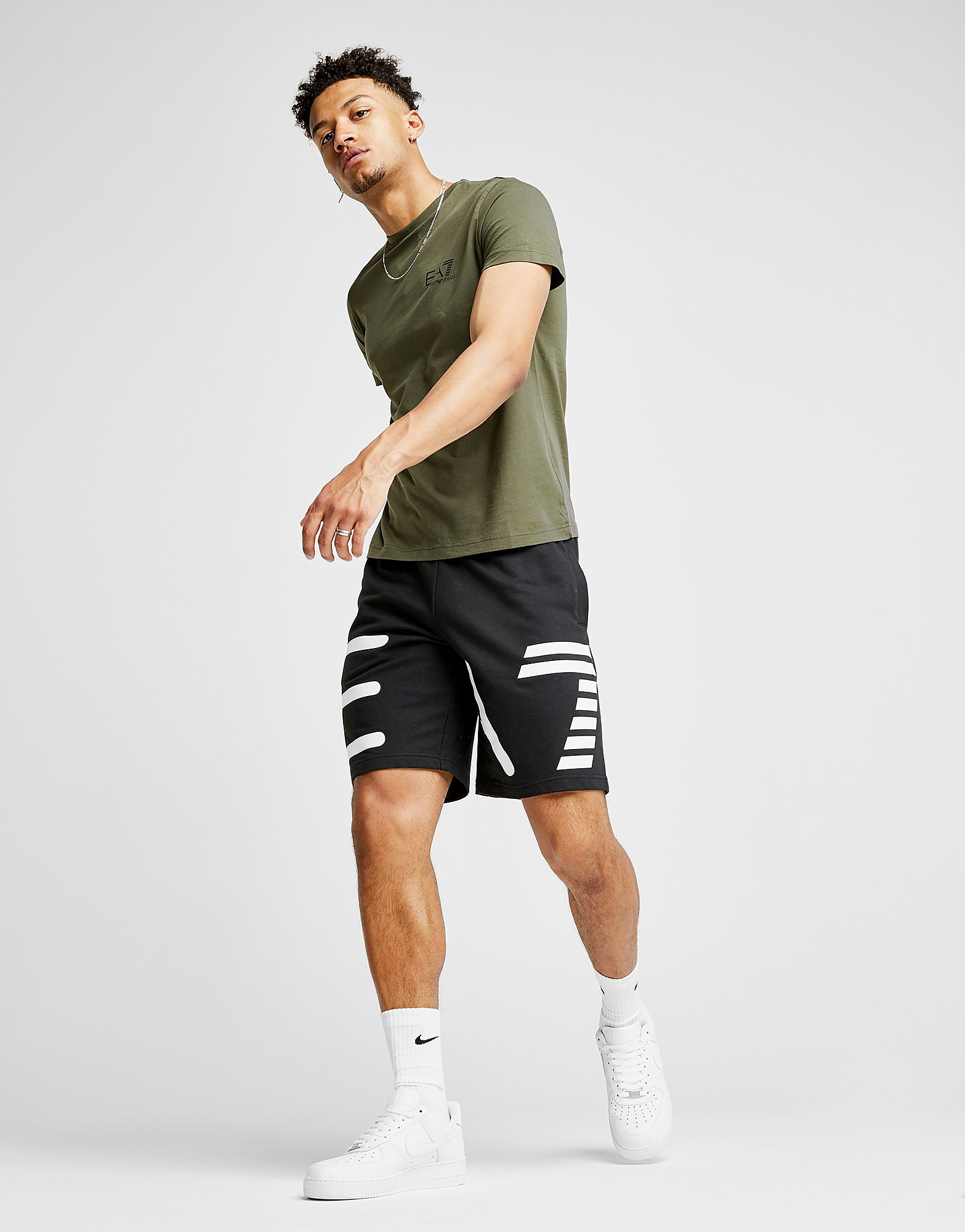 Emporio Armani EA7 Large Logo Shorts