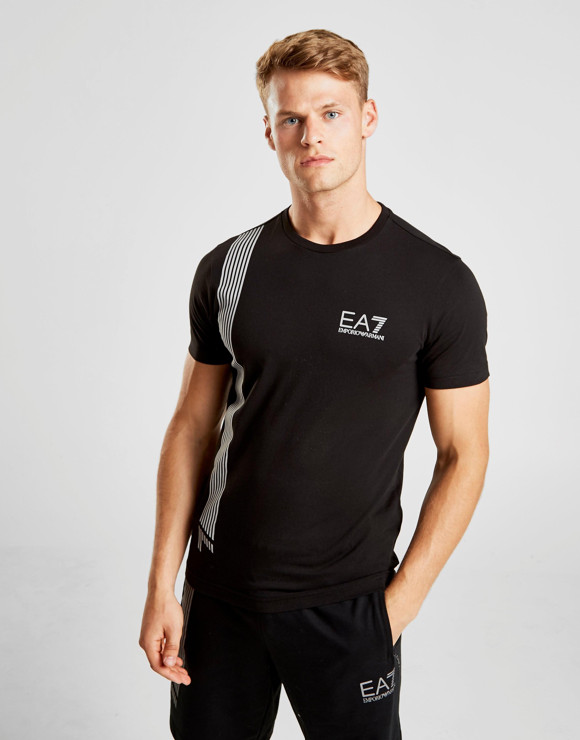 Emporio Armani EA7 7 Lines Kortærmet T-Shirt Herre