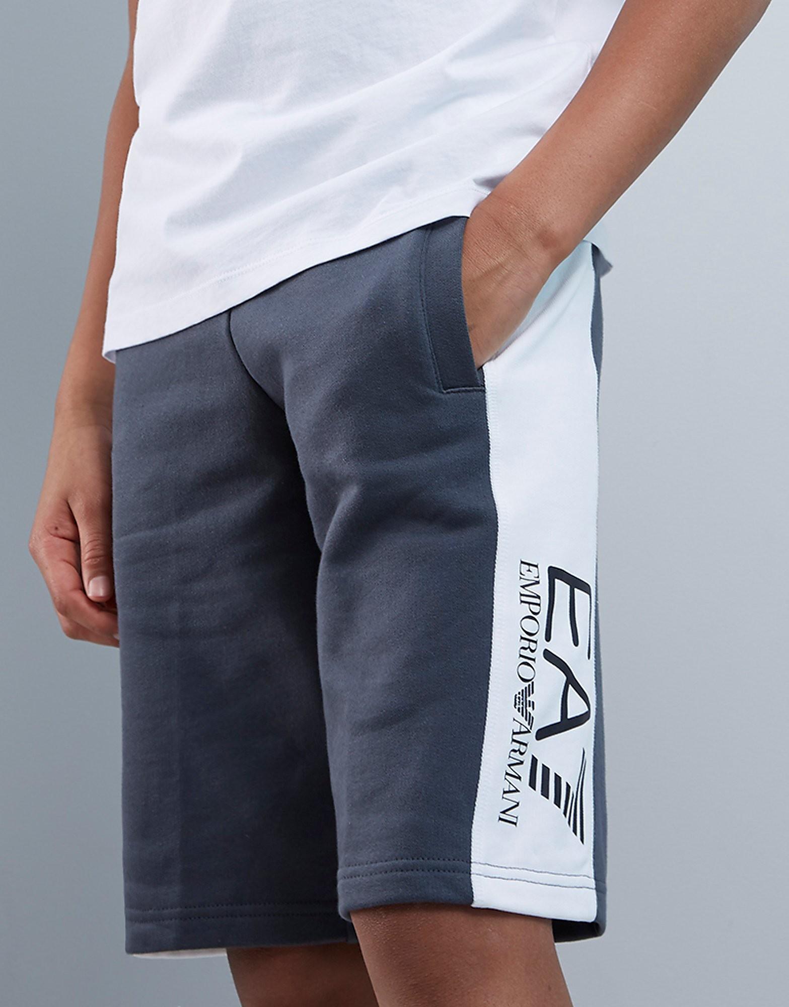 Emporio Armani EA7 Panel Fleece Shorts Junior