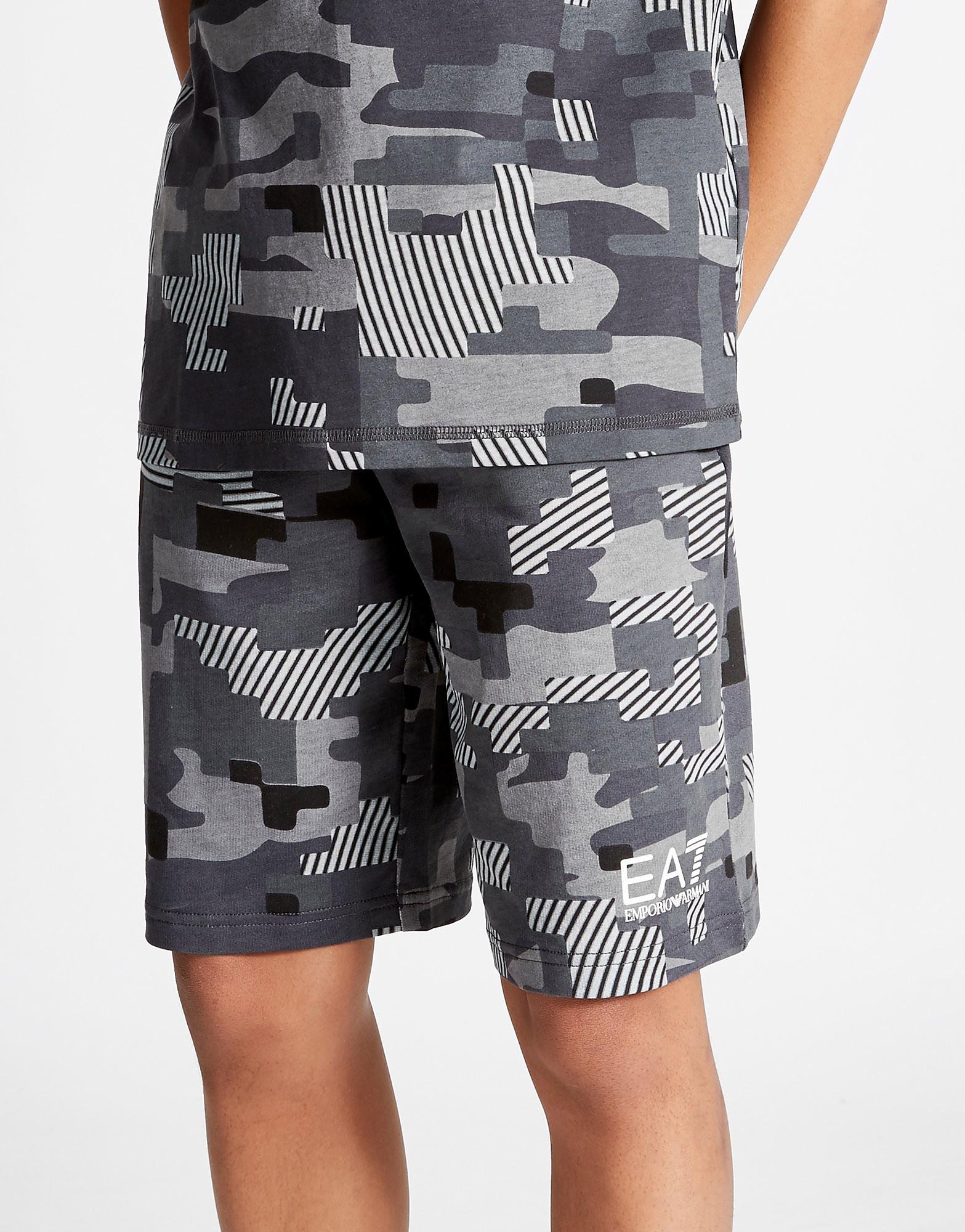 Emporio Armani EA7 Digi Camo Shorts Junior