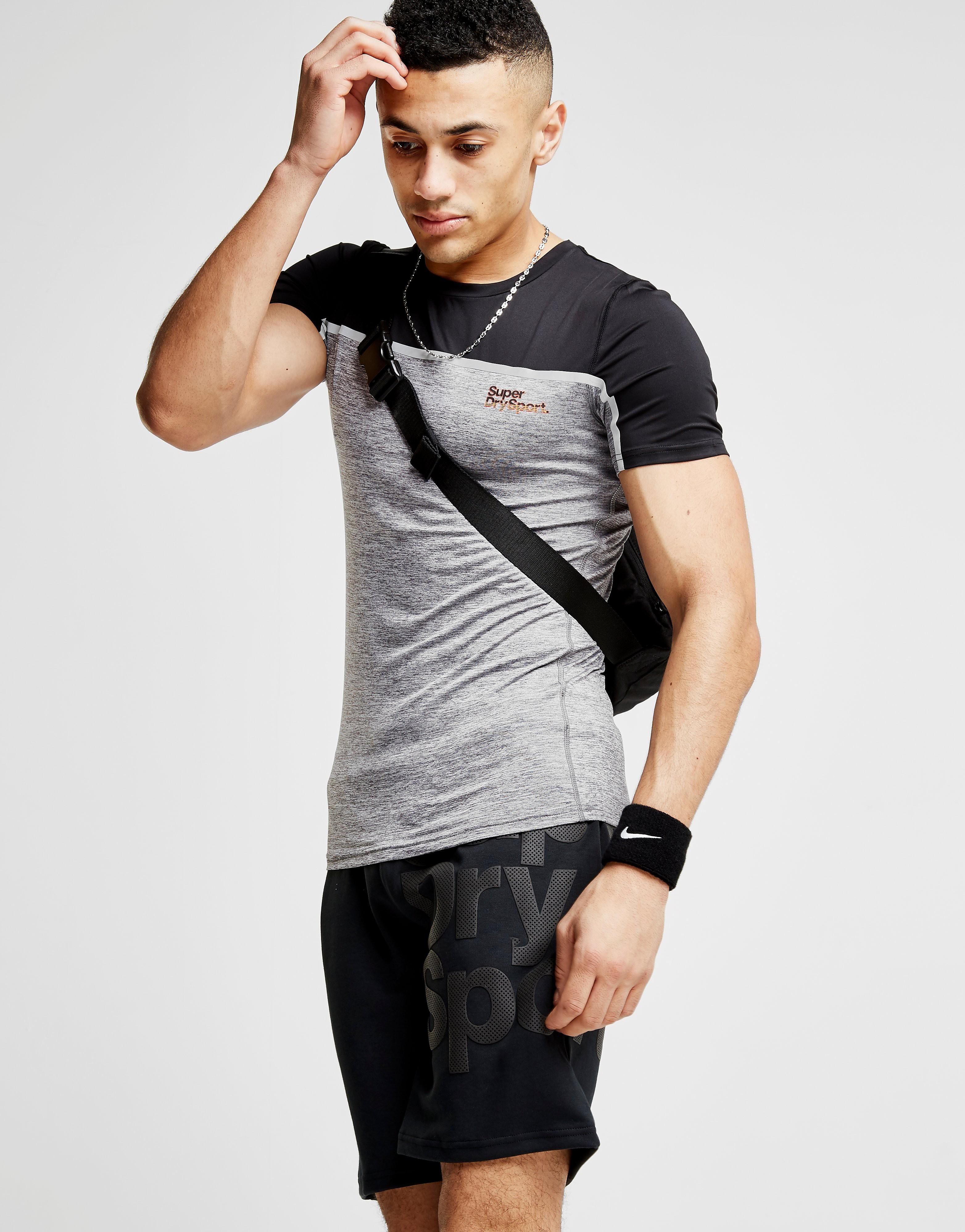Superdry Sport Colour Block Tape T-Shirt