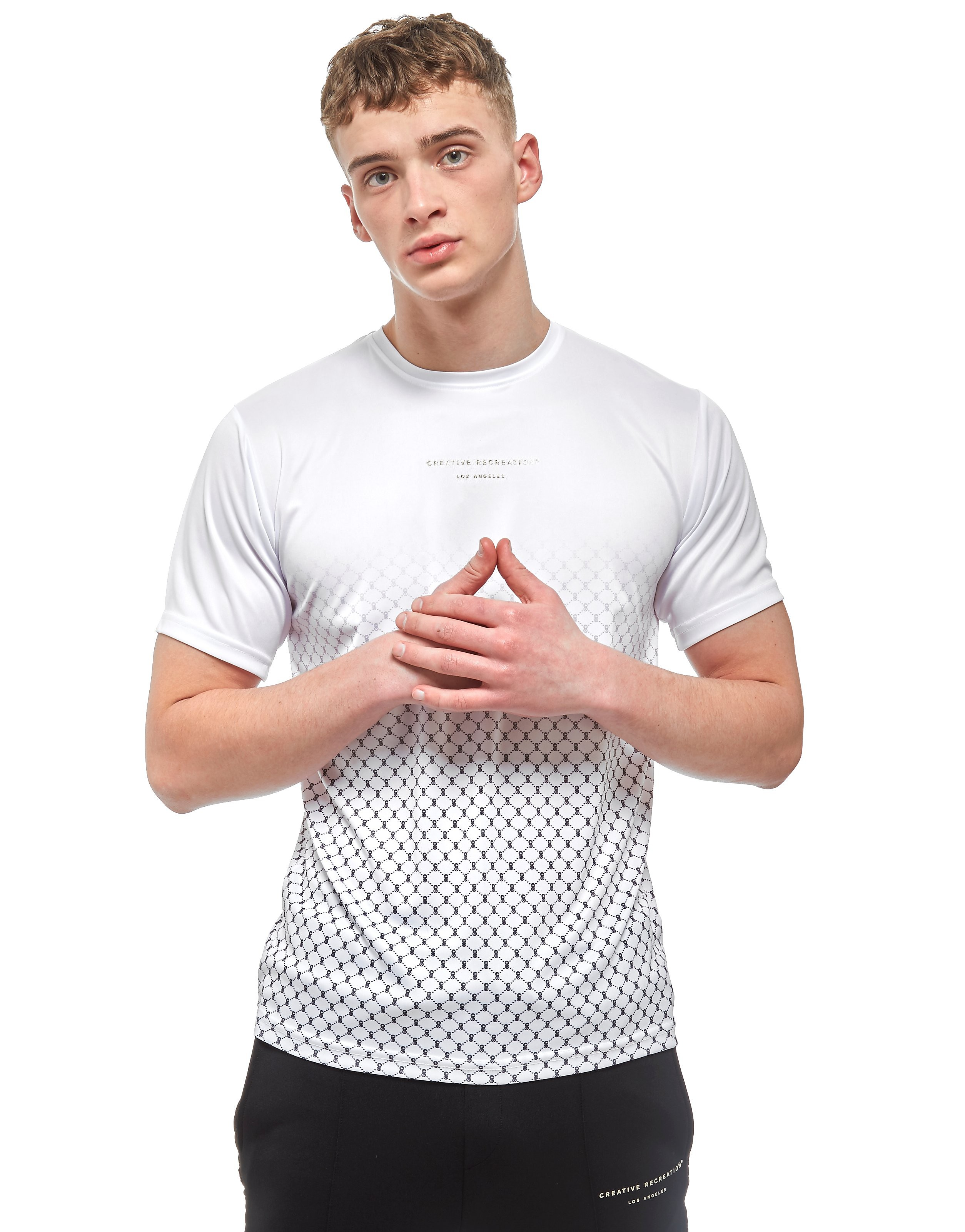 Creative Recreation House Pattern Ombre T-Shirt