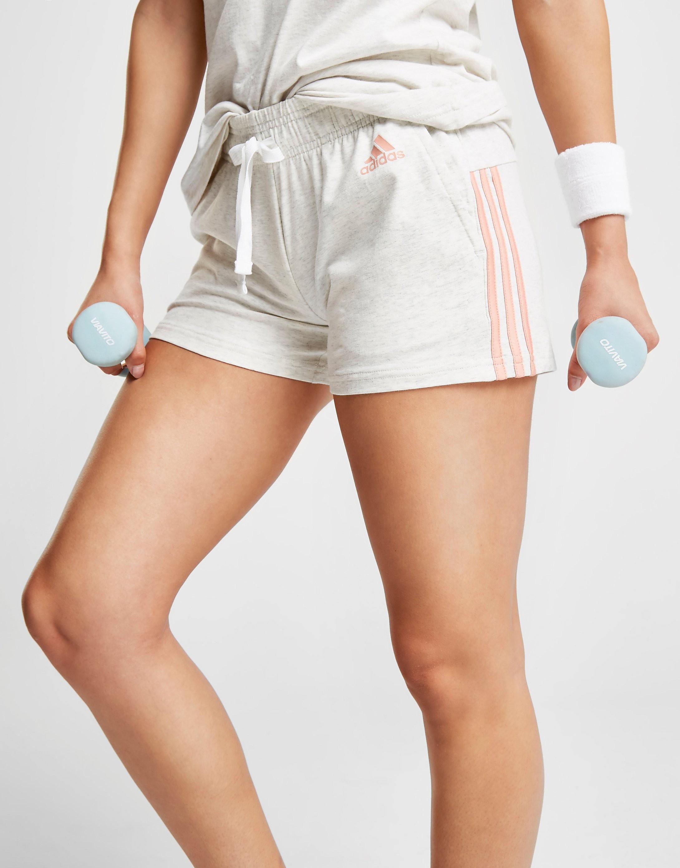adidas Essentials 3-Stripes Linear Shorts Damer