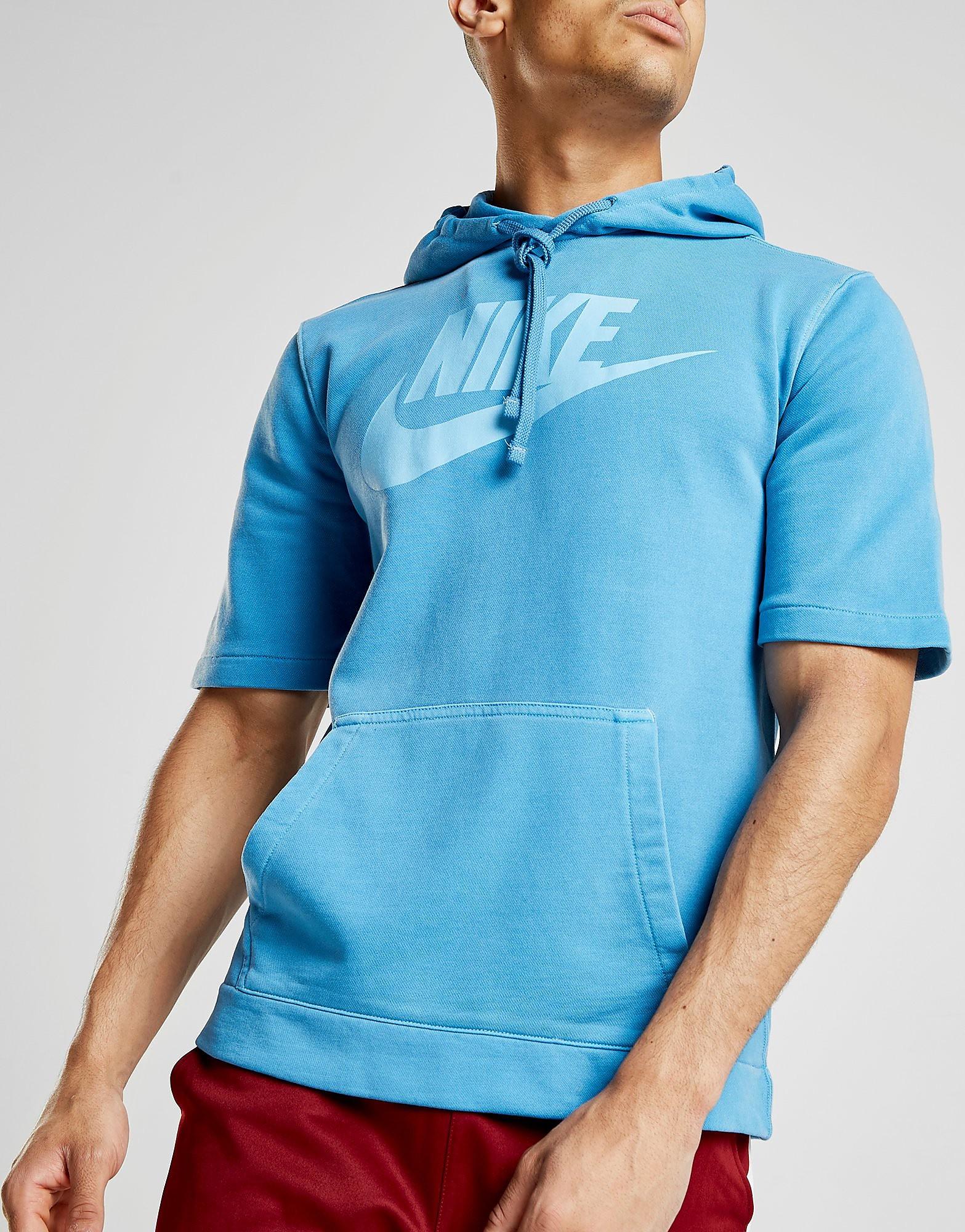 Nike Wash Short Sleeve Hoodie