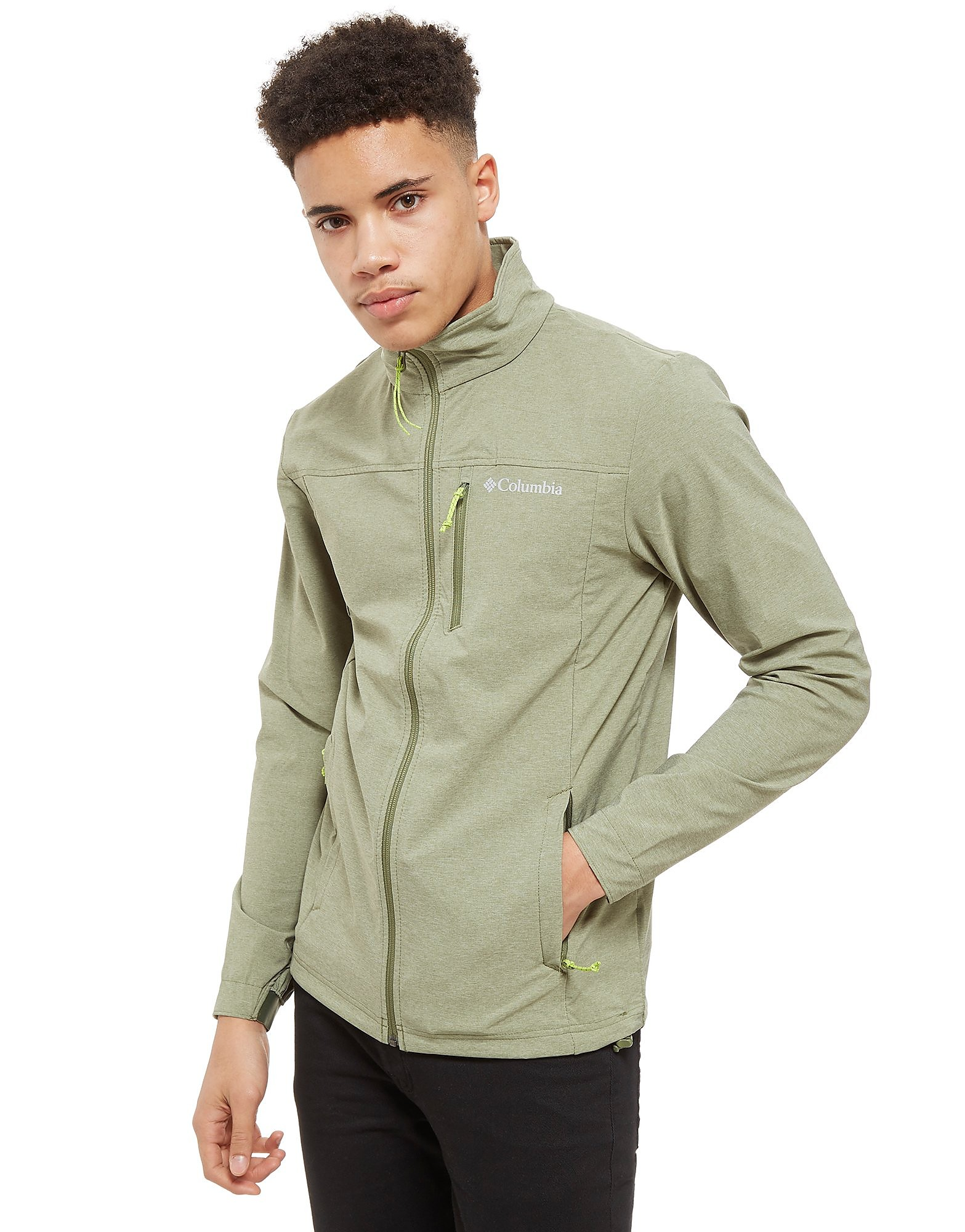 Columbia Softshell Zip Through Track Top