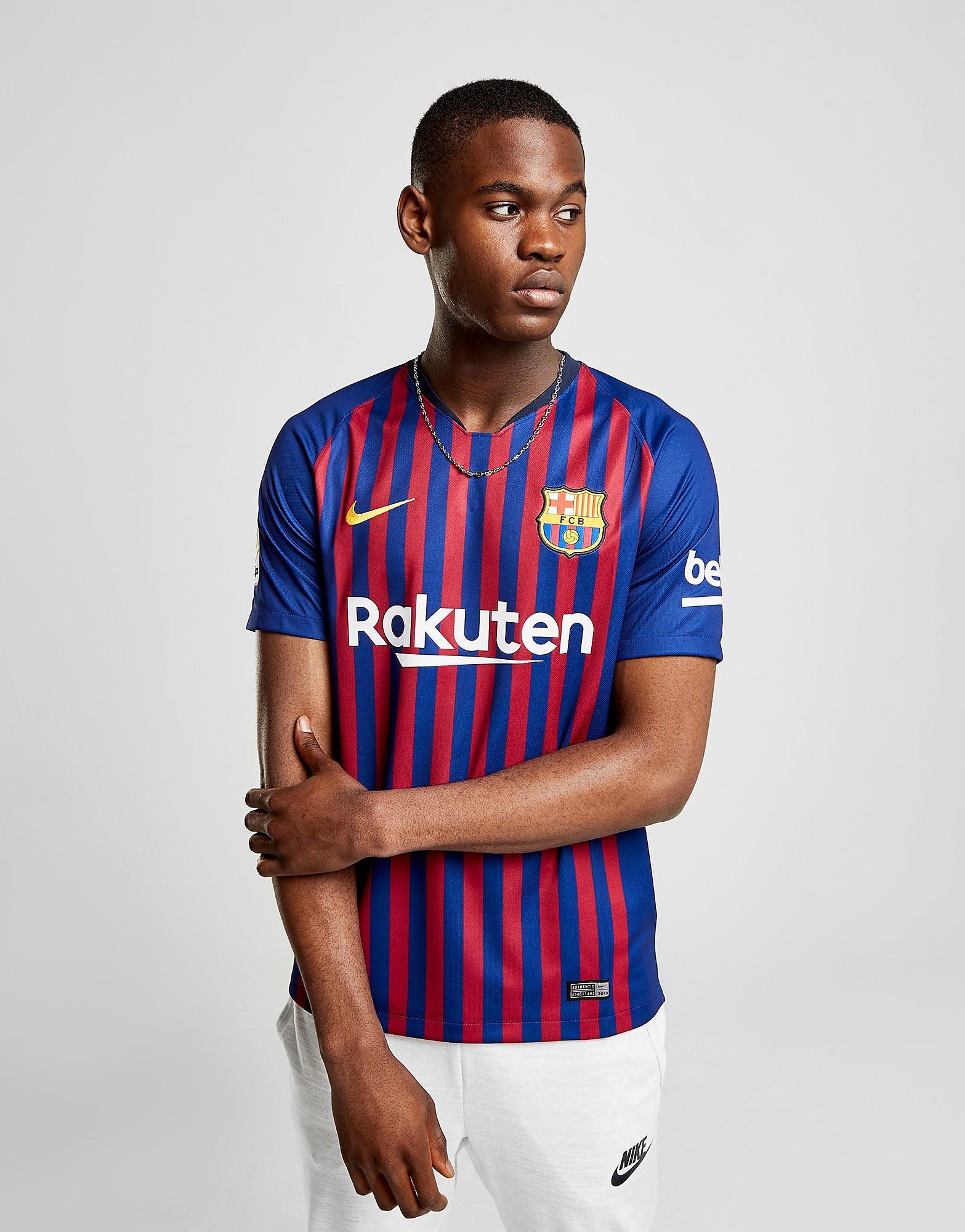 Nike FC Barcelona 2018/19 Hjemmebanetrøje Herre