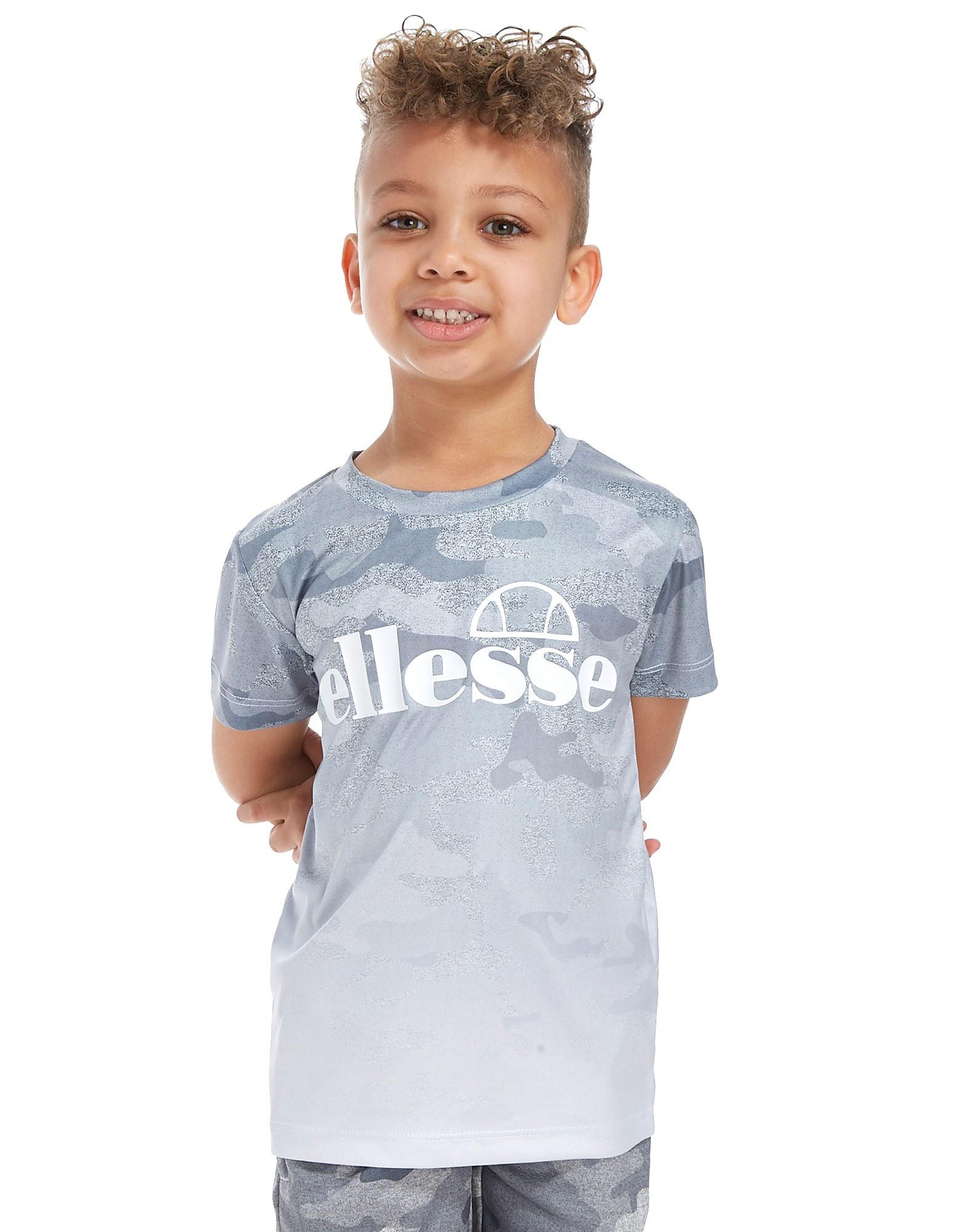 Ellesse Puccio Fade Camo T-Shirt Children