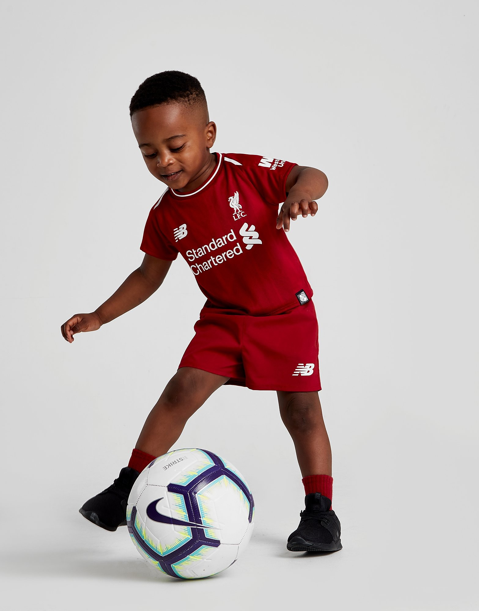 New Balance Liverpool FC 2018 Hjemmebanesæt Baby FORUDBESTIL