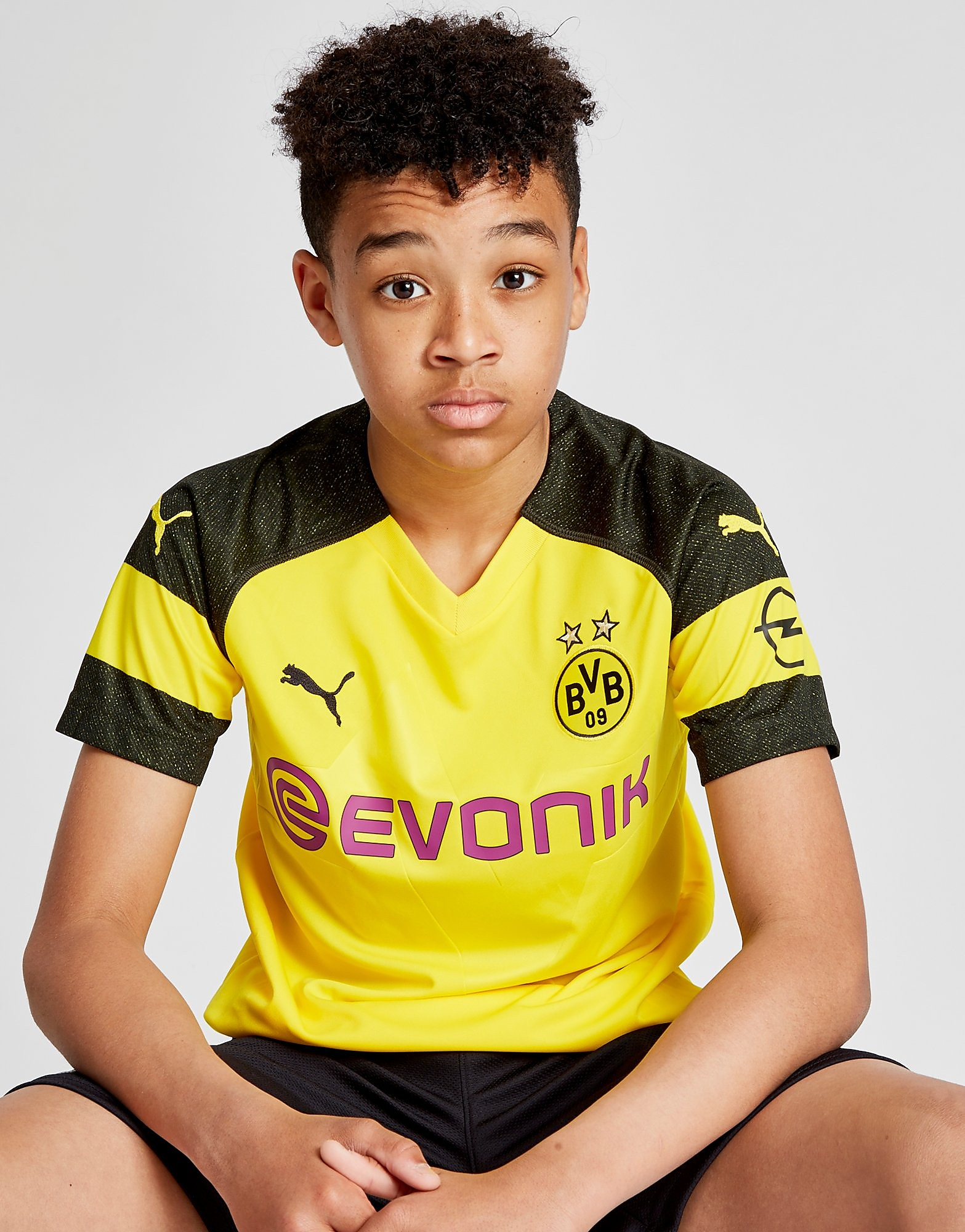 PUMA Borussia Dortmund 2018/19 Hjemmebanetrøje Junior