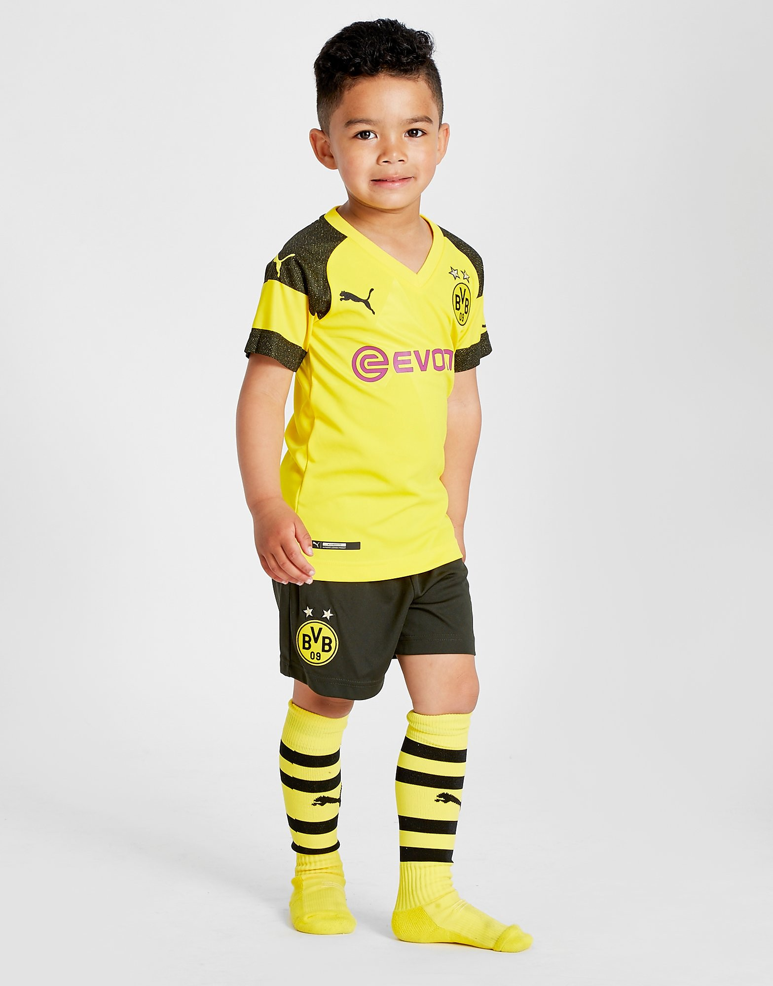PUMA Borussia Dortmund 2018/19 Hjemmebanesæt Børn