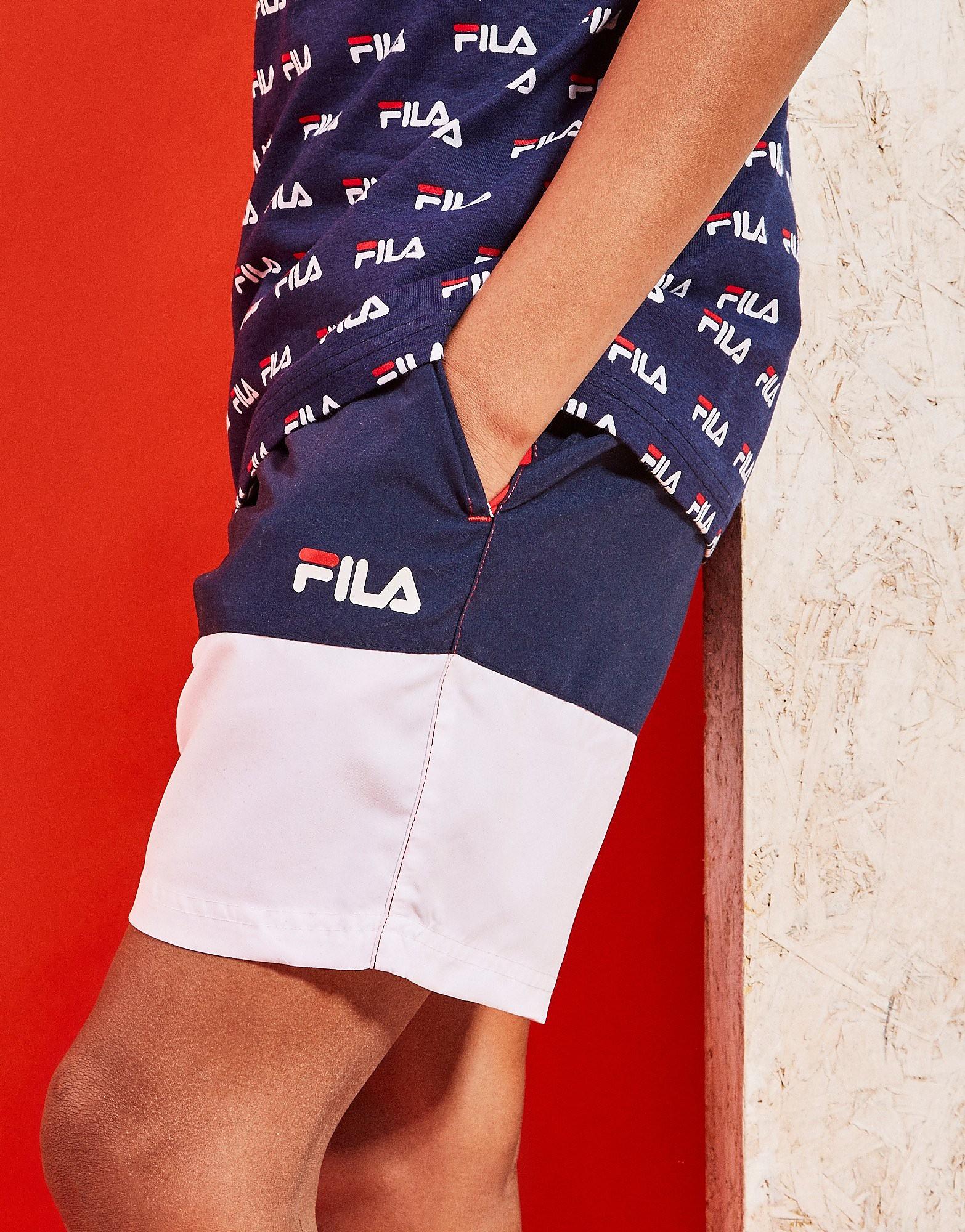 Fila Clark Colour Block Swim Short Junior