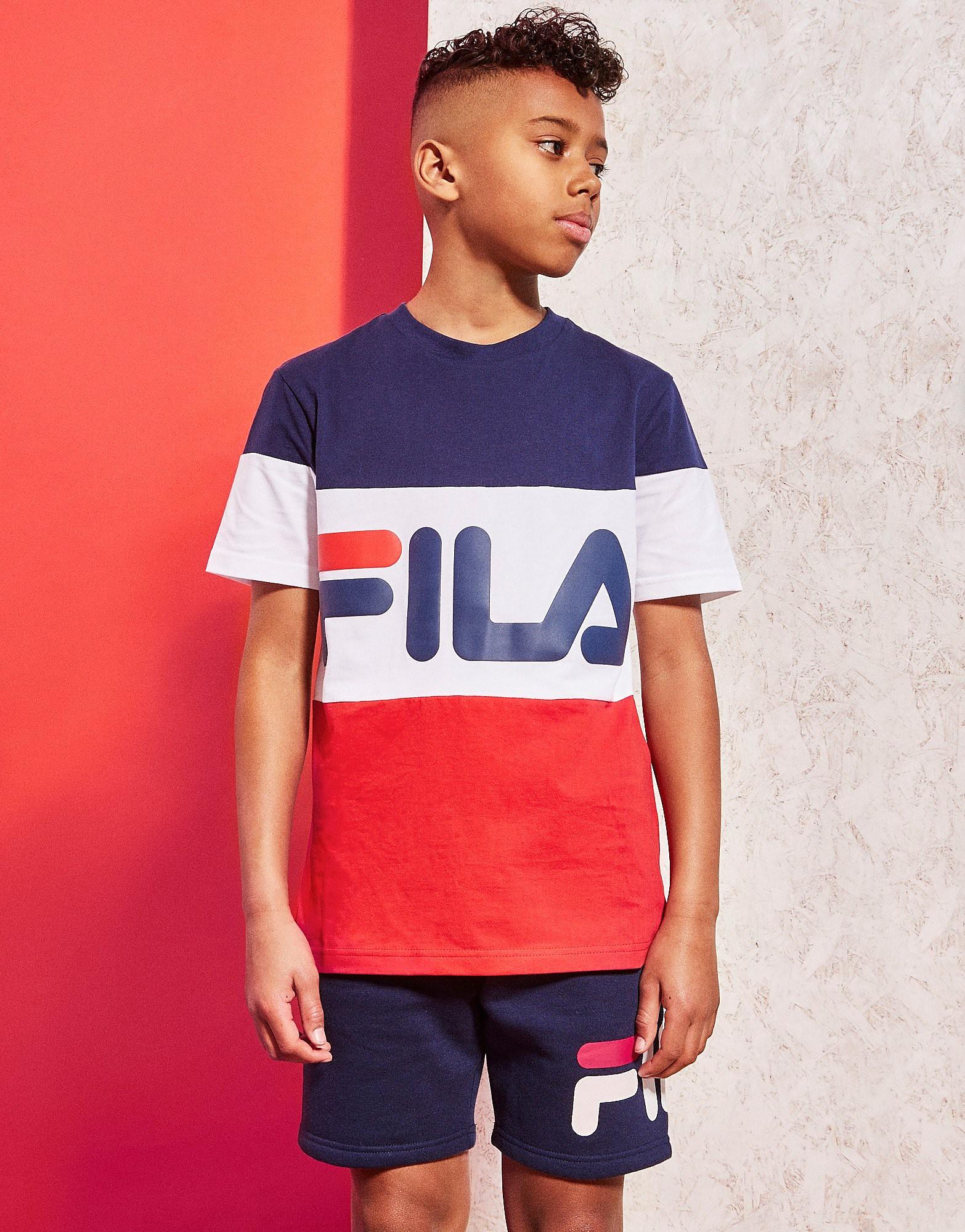 Fila Dux Colourblock T-Shirt Junior