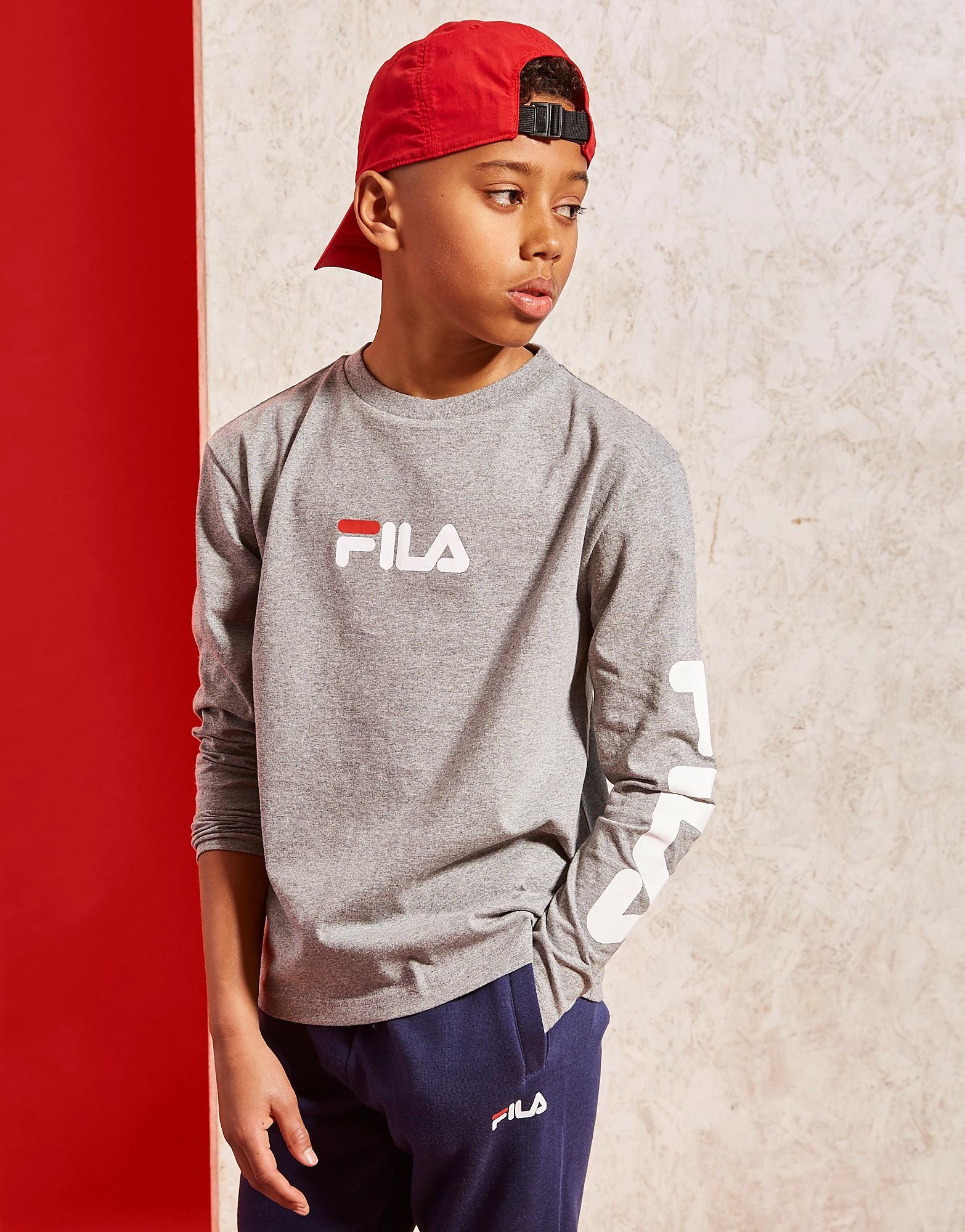 Fila Bull Long Sleeve T-Shirt Junior