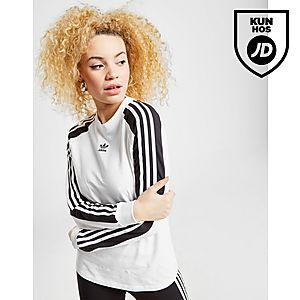 sports shoes 87b82 cc4e9 adidas Originals 3-Stripes Panel Long Sleeve T-Shirt Dame ...
