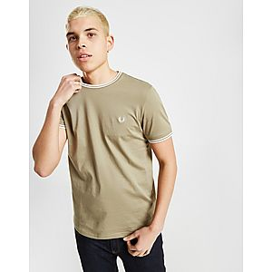 42a53219c8d6 Fred Perry Twin Tipped Ringer Short Sleeve T-Shirt ...