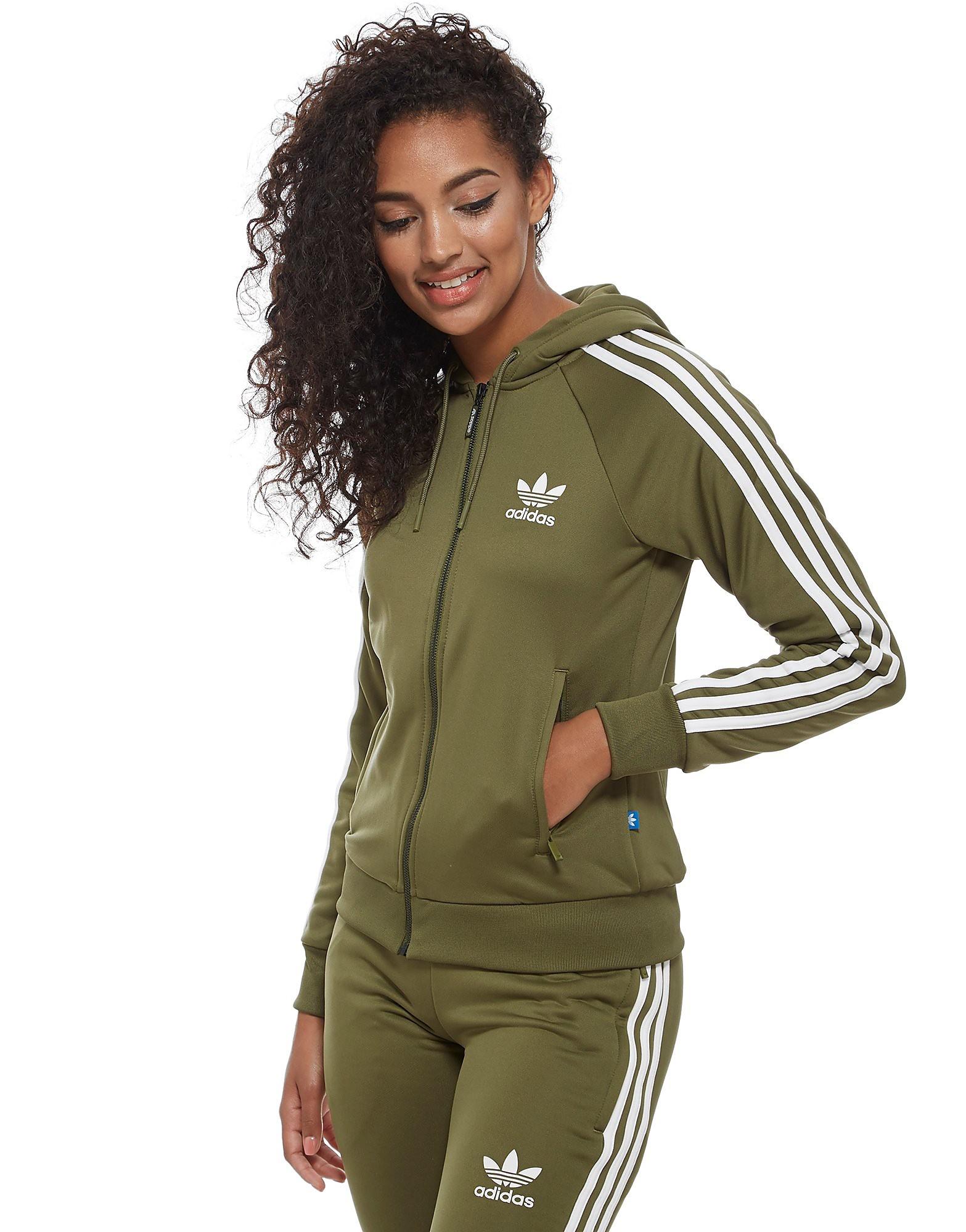 adidas Originals 3-Stripes Full Zip Hoodie Damer