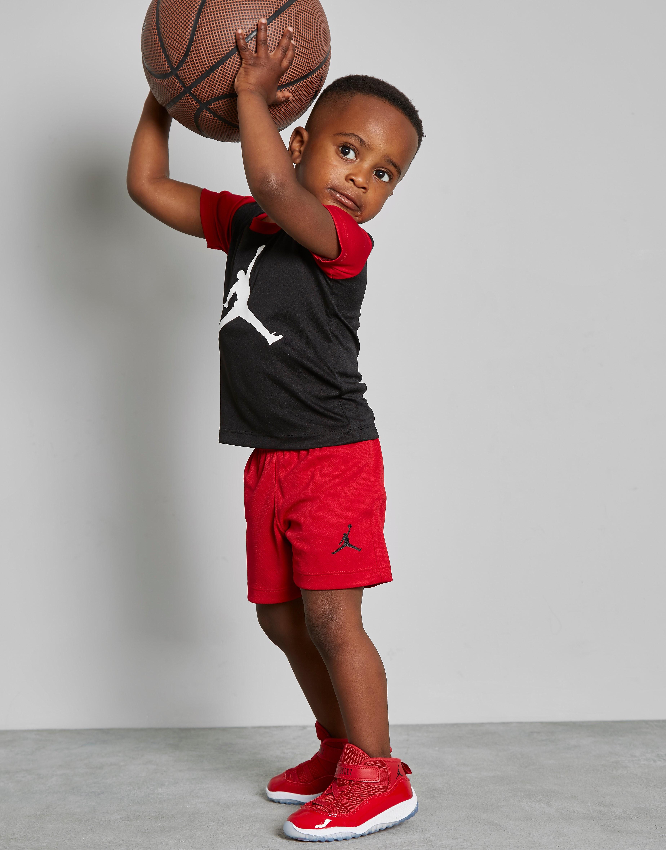 Jordan conjunto camiseta/pantalón Jumpman 4 Life para bebé