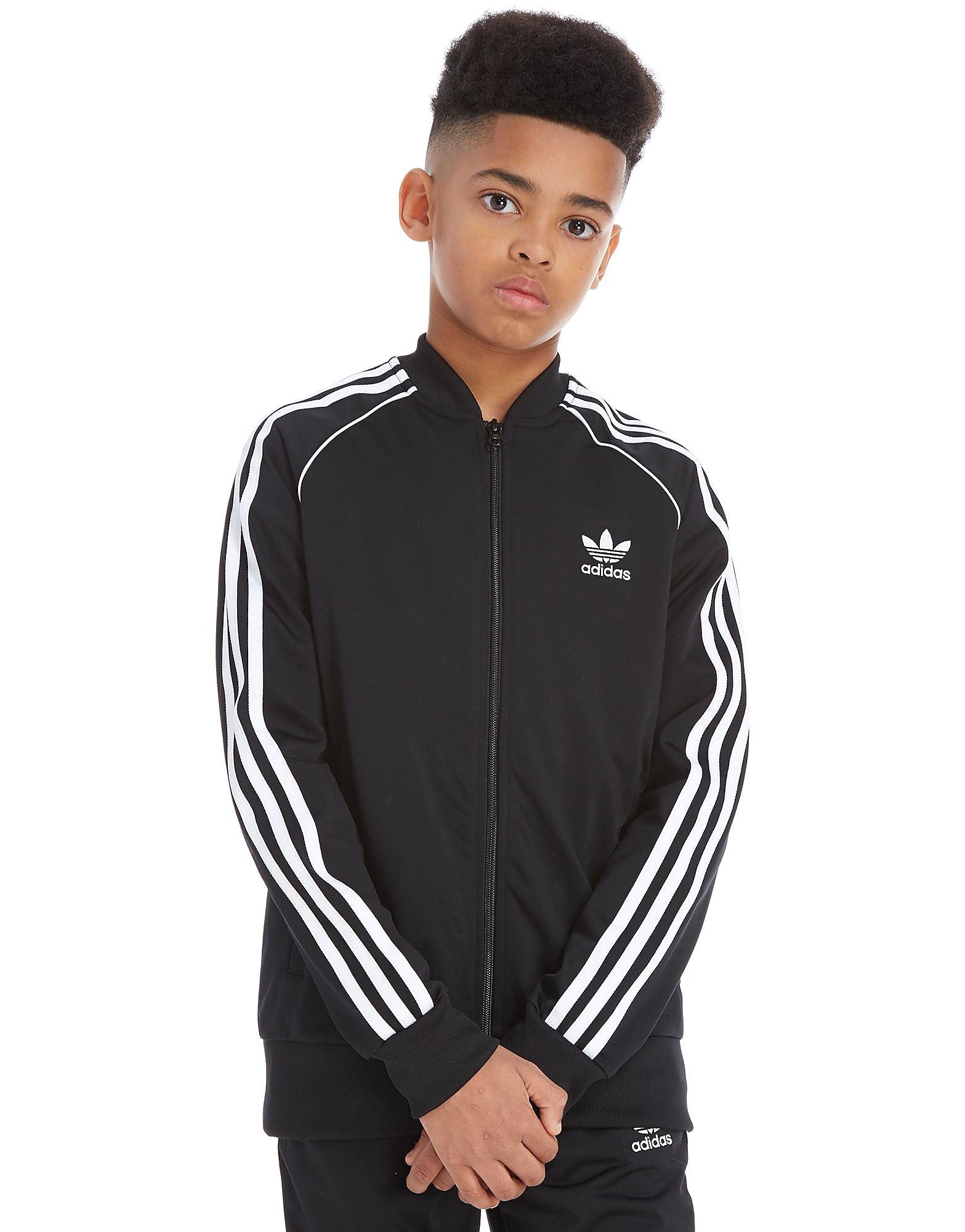 adidas Originals chaqueta de chándal Superstar júnior
