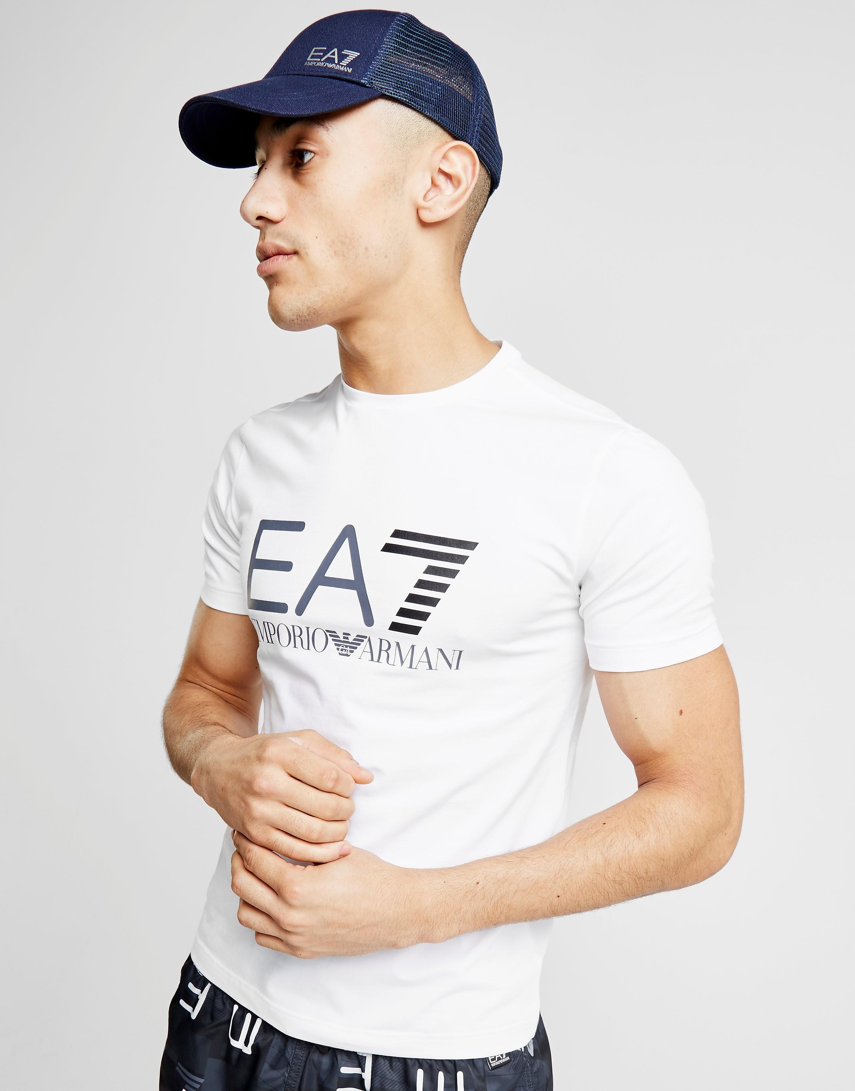 Emporio Armani EA7 camiseta Logo Foil