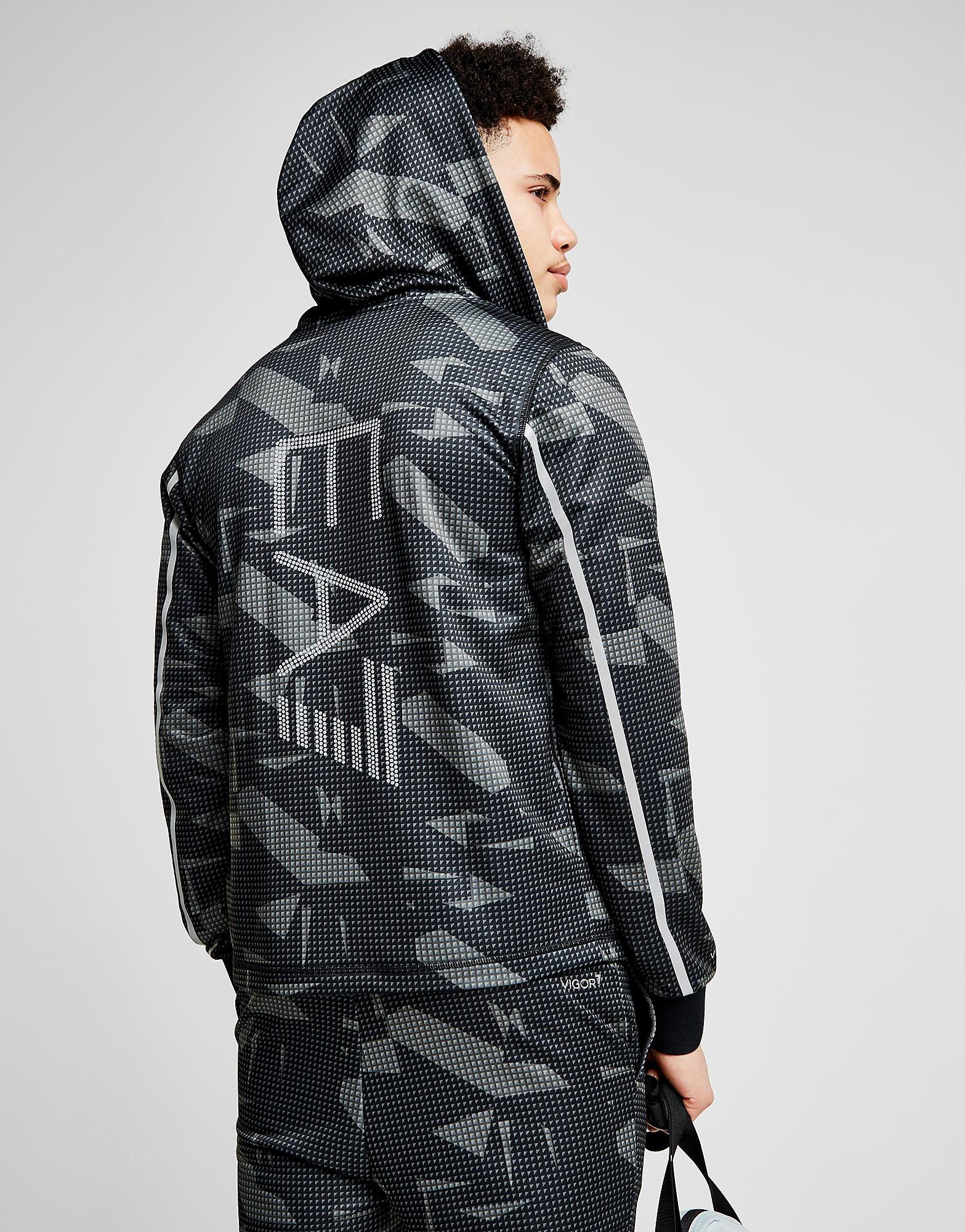Emporio Armani EA7 chaqueta con capucha Poly Vigor