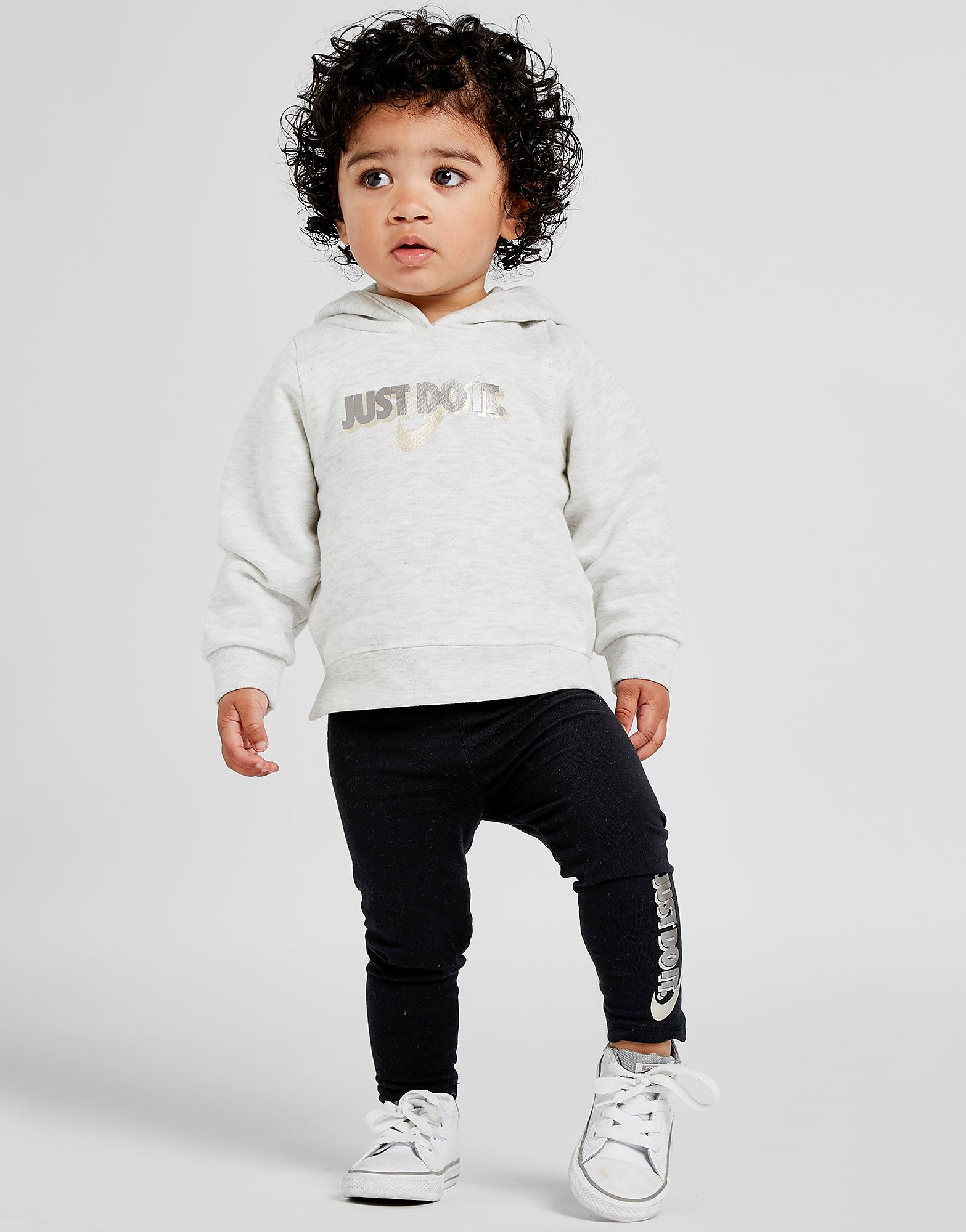 Nike conjunto Just Do It Sudadera/Leggings para bebé