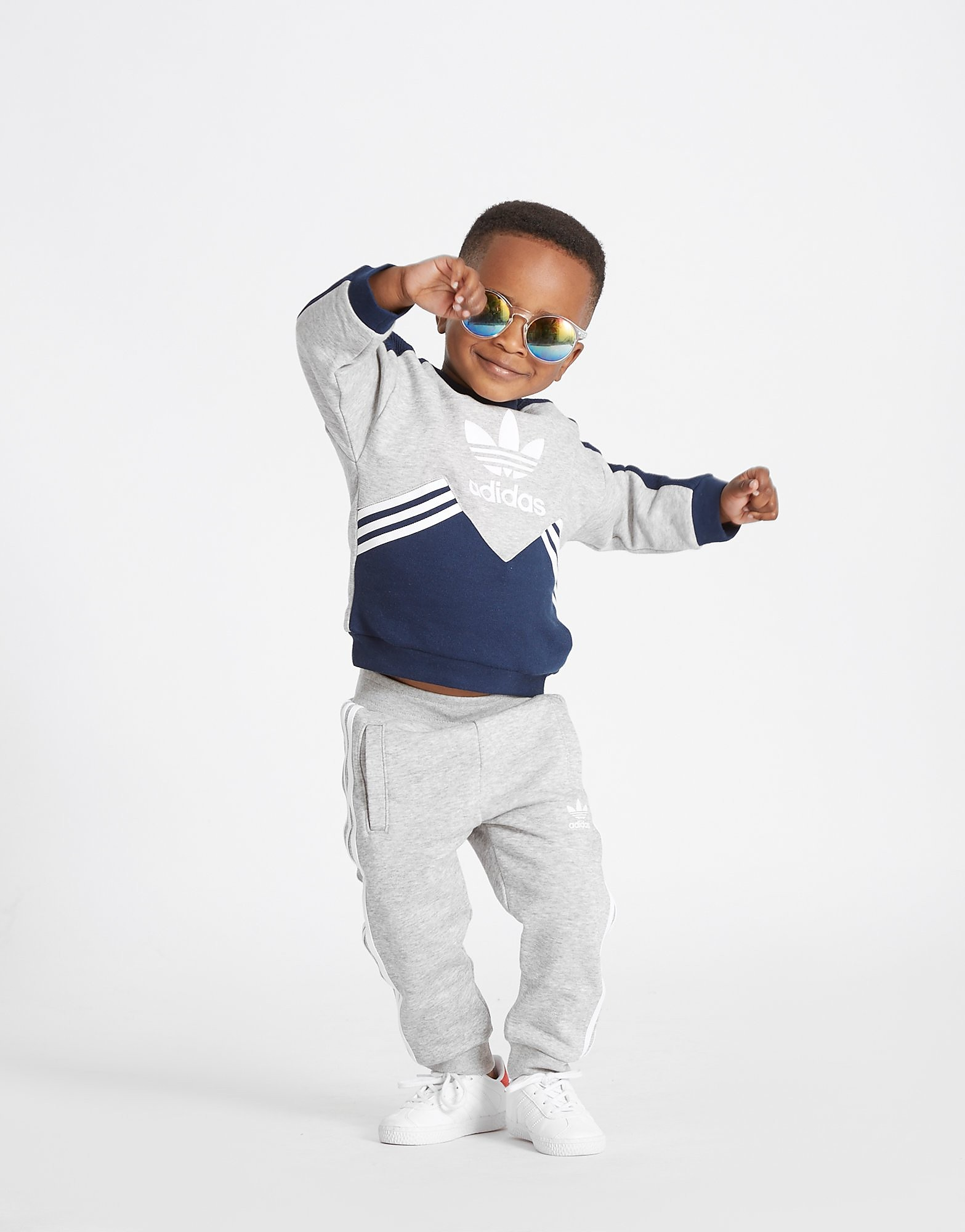 adidas Originals conjunto MOA Crew para bebé