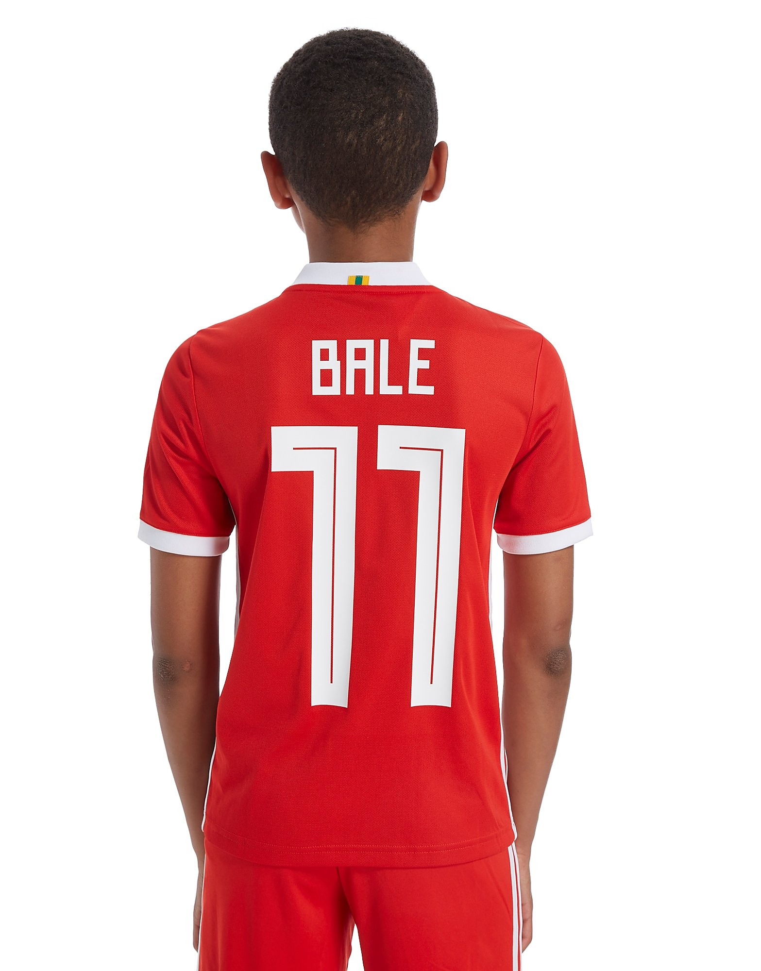 adidas camiseta 1.ª equipación Gales 2018 Bale #11 júnior