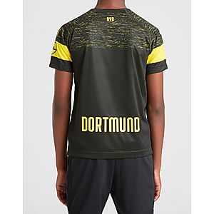 ª equipación júnior PUMA camiseta Borussia Dortmund 2018 19 2.ª equipación  júnior deed8704d911c