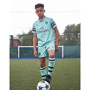 PUMA pantalón corto Arsenal FC 2018 19 3.ª equipación júnior ... 97d84af5e63bd