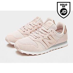 zapatillas new balance 373 mujer rosa