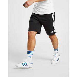 ... adidas Originals 3-Stripes Fleece Shorts 8393f6071952