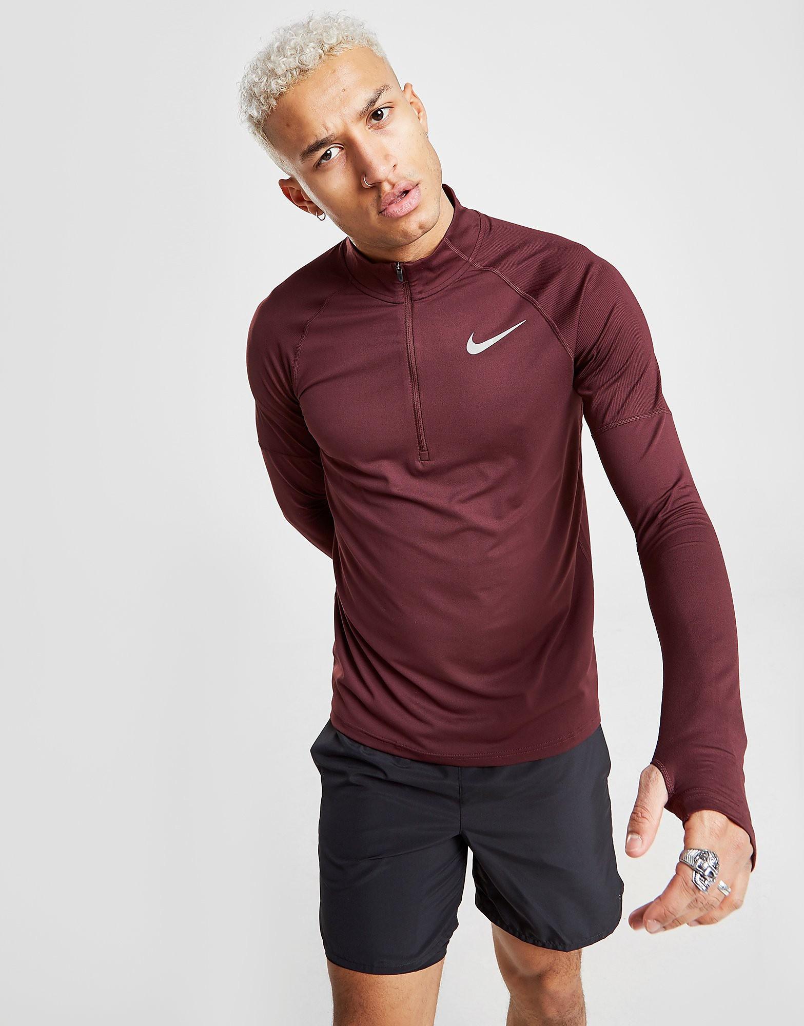 Nike camiseta de manga larga Dry Element 1/2 Zip Running