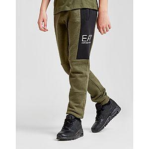 Emporio Armani EA7 pantalón de chándal Tritonal Foil júnior ... 2b49bf6becf0