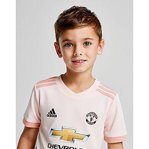 ... infantil adidas 2.ª equipación Manchester United FC 2018 19 infantil 4ae9658c0cf88