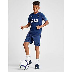 ª equipación júnior Nike camiseta Tottenham Hotspur FC 2018 19 2.ª  equipación júnior 5f4d7fa9f60bf