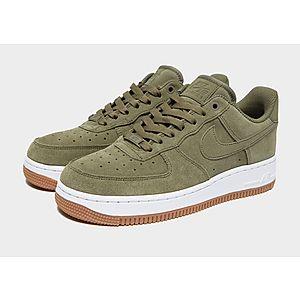 Nike air force 1 alto premium top marrón blanco es35910