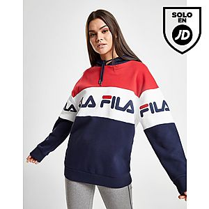 Fila sudadera con capucha Panel Logo Boyfriend ... ceed75c41db